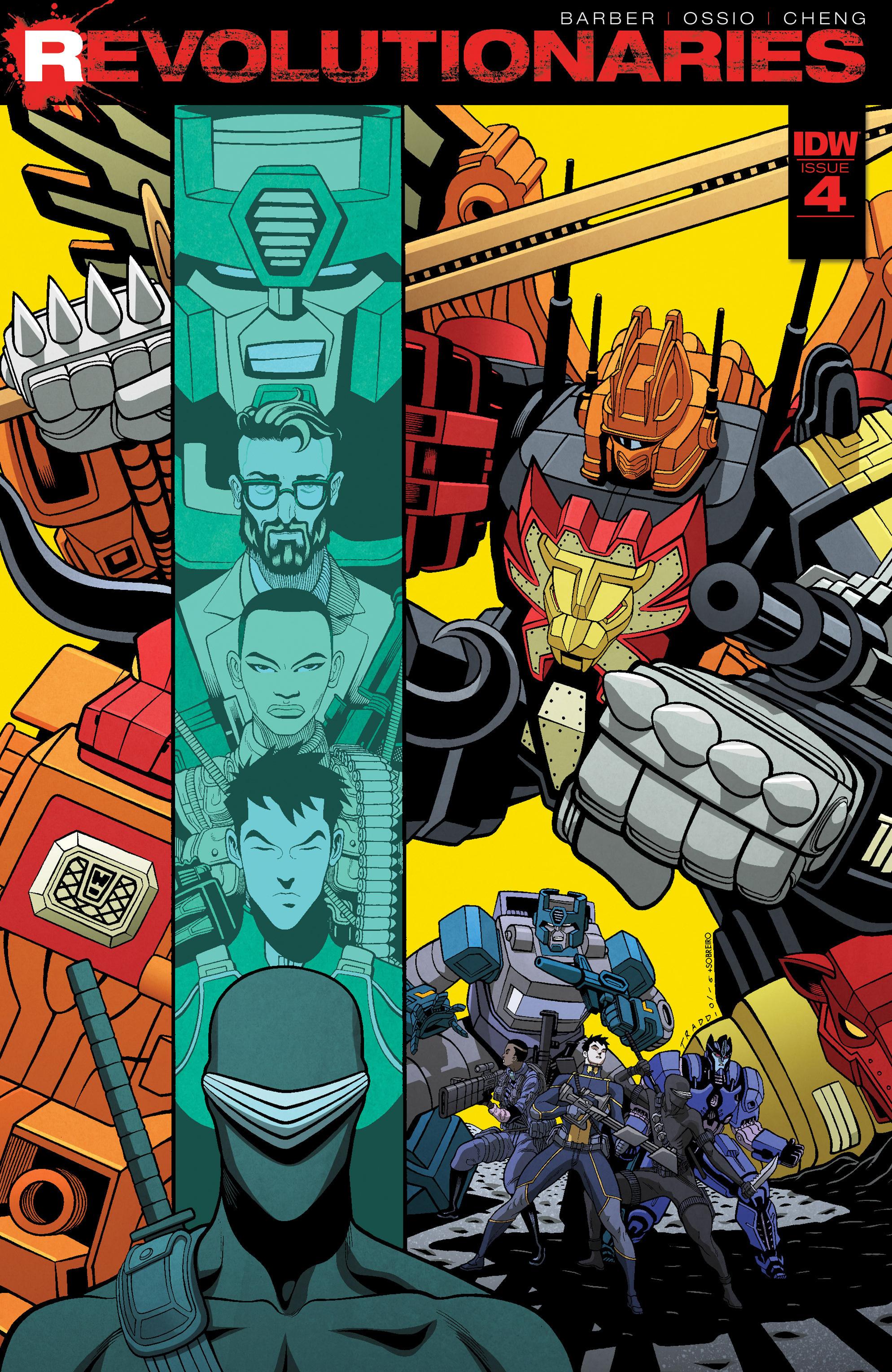 Read online Revolutionaries comic -  Issue #4 - 1