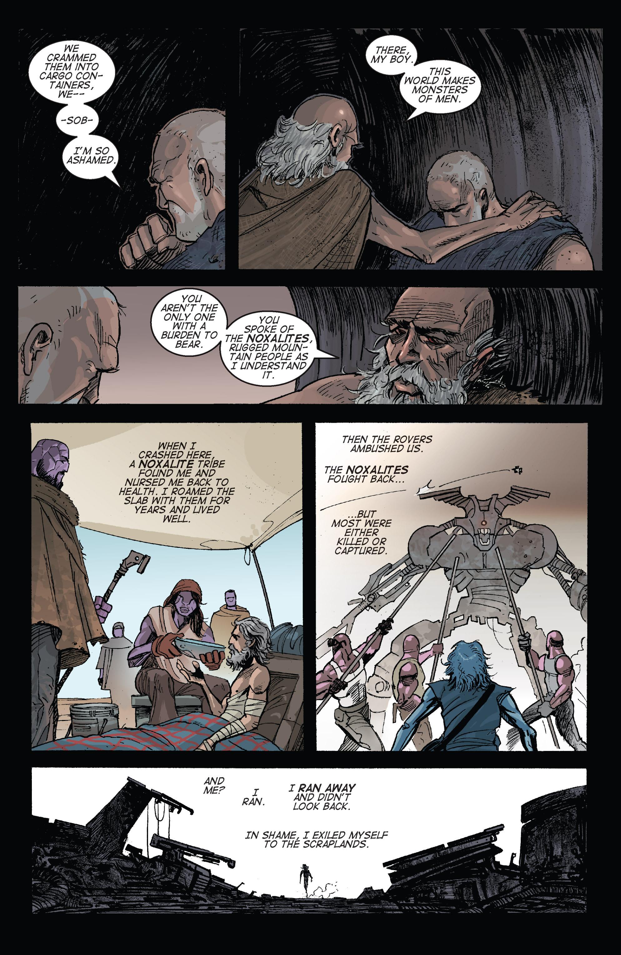 Read online Planetoid comic -  Issue # TPB - 130