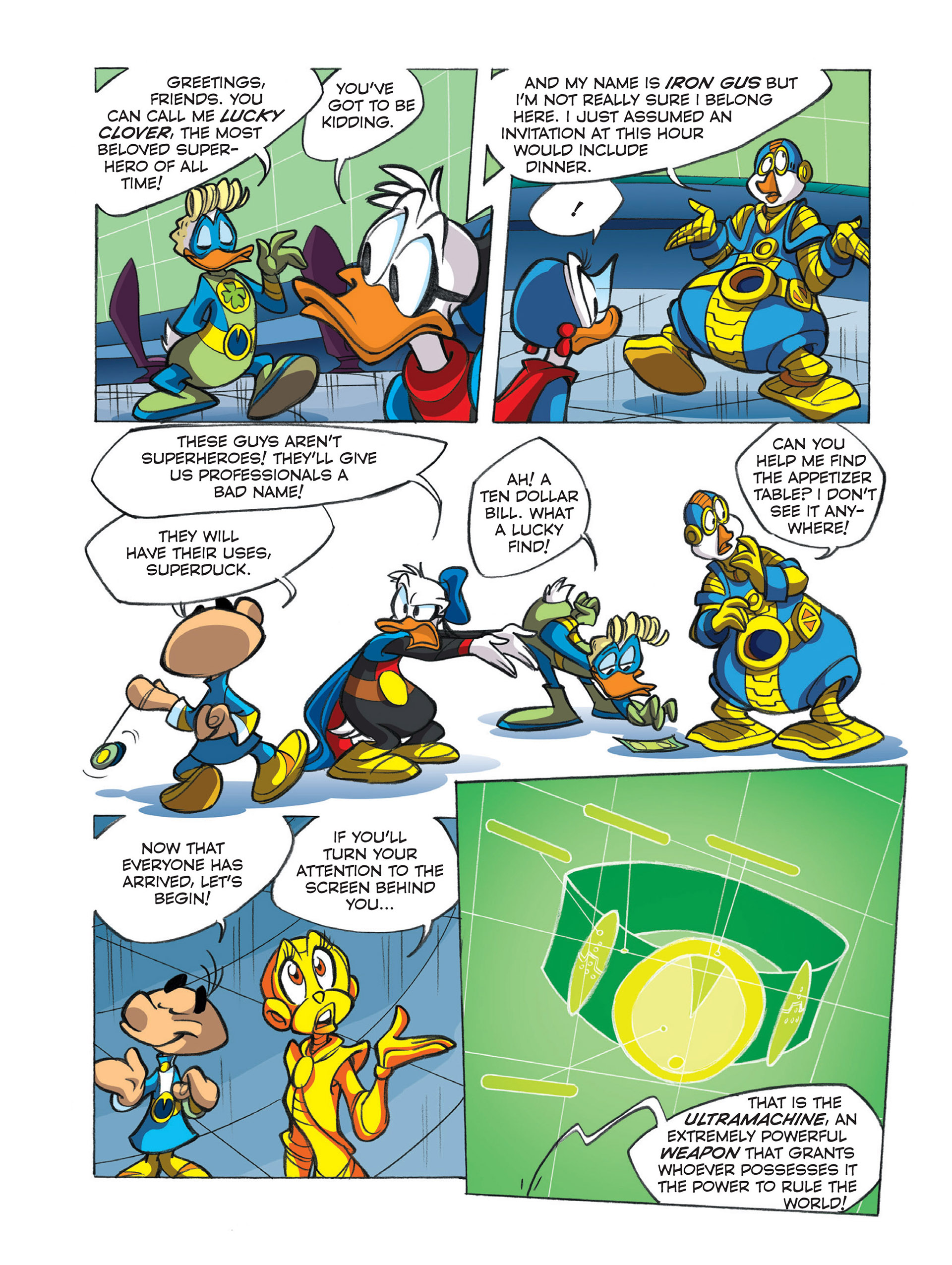 Read online Ultraheroes comic -  Issue #1 - 16