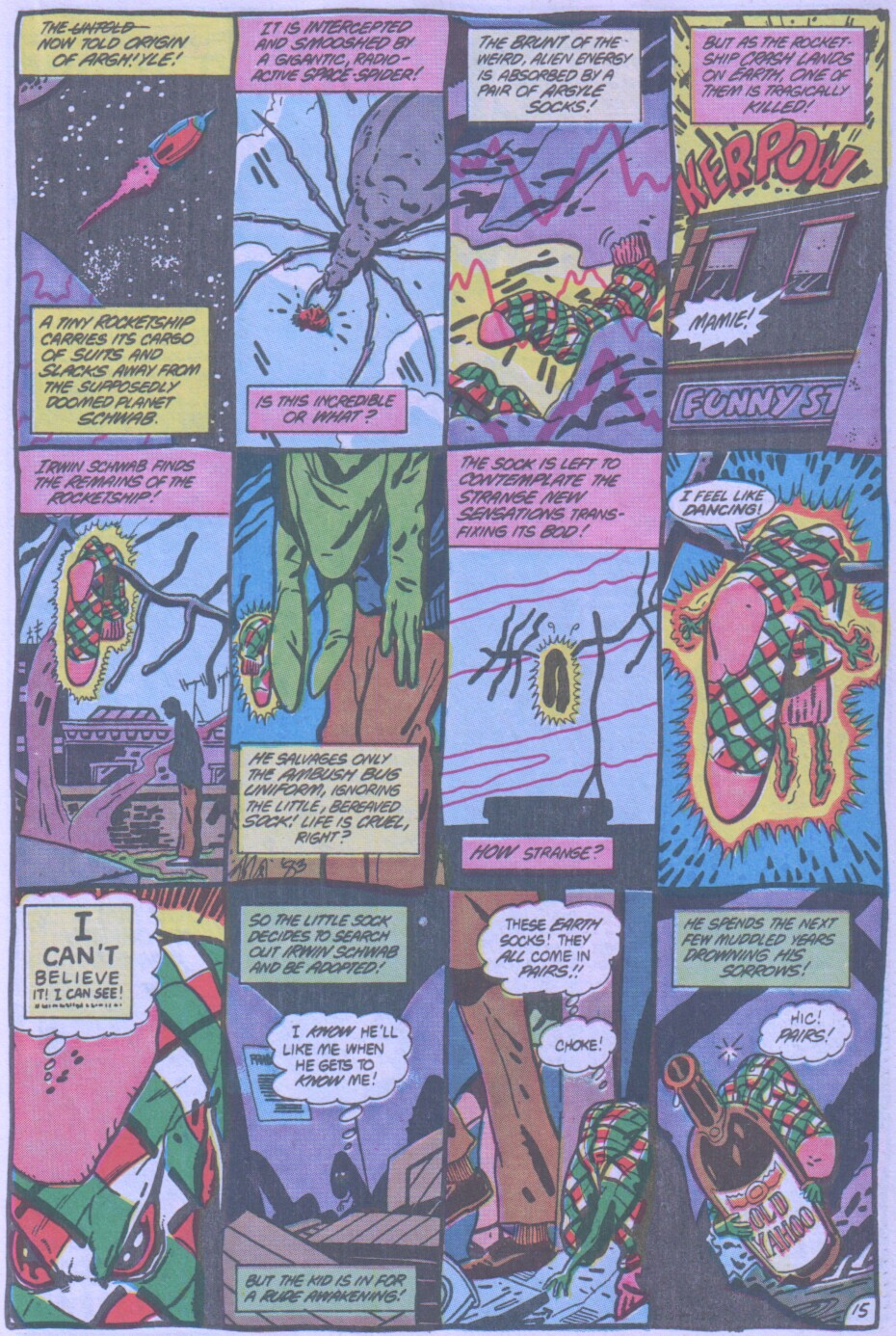 Read online Ambush Bug comic -  Issue #4 - 16