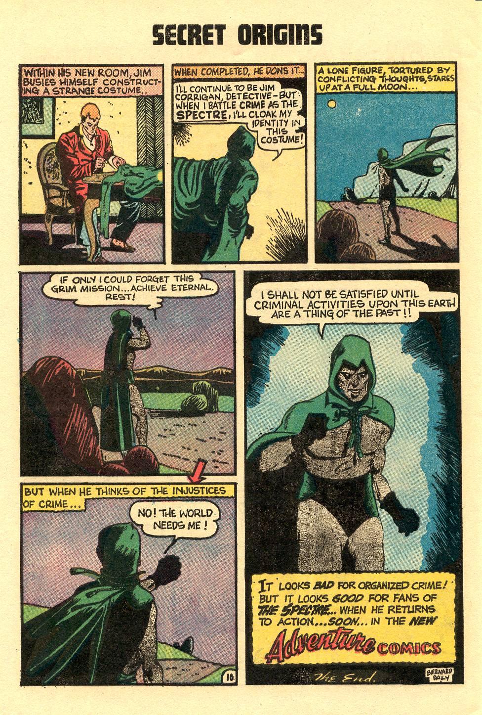Read online Secret Origins (1973) comic -  Issue #5 - 32