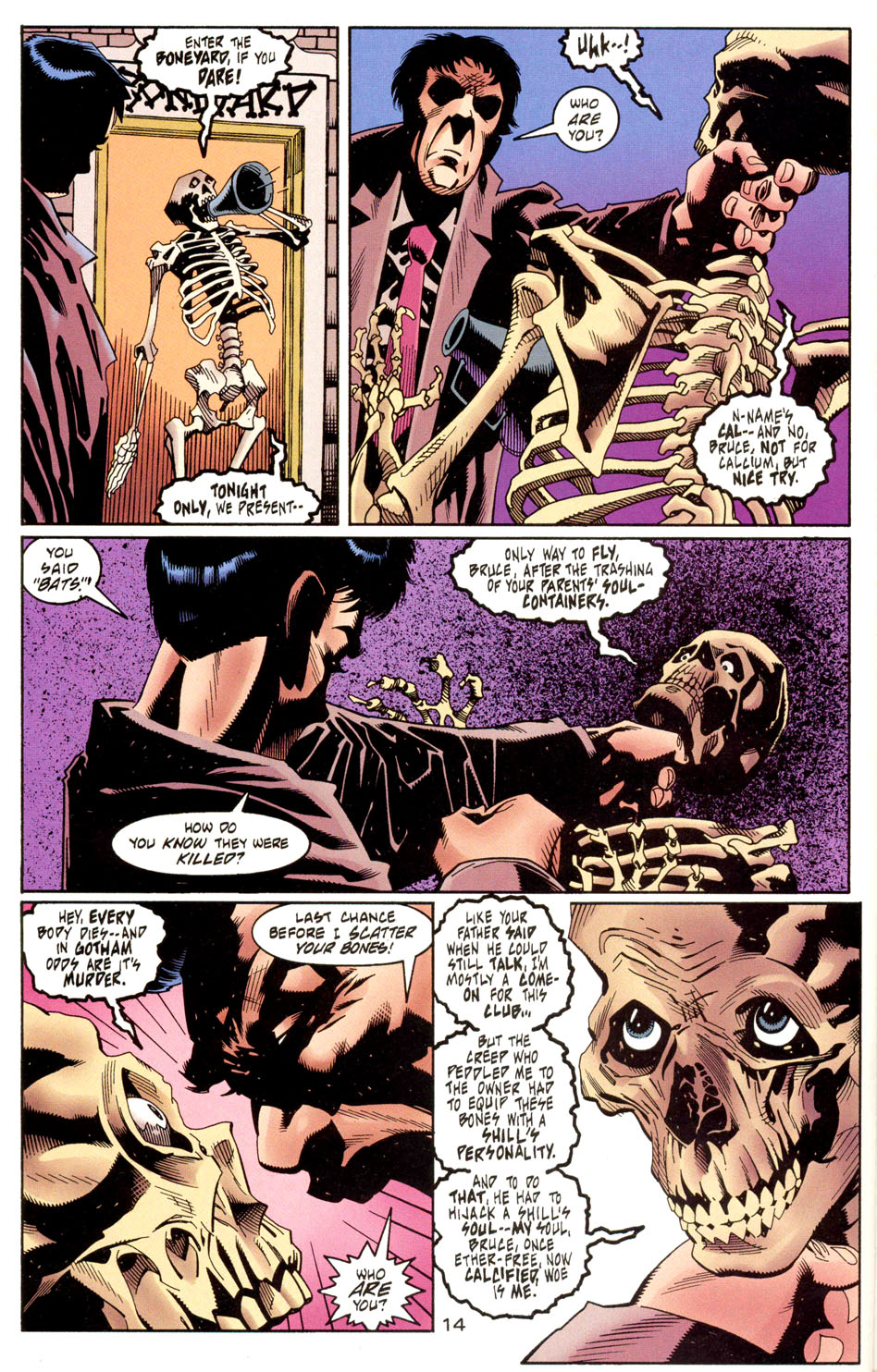 Read online Batman: Haunted Gotham comic -  Issue #1 - 16