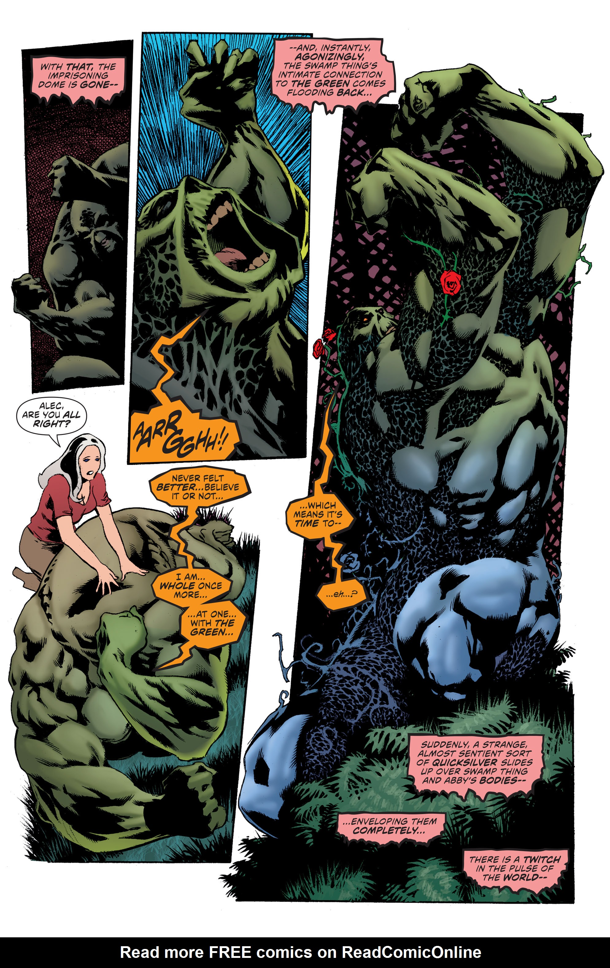 Read online Convergence Swamp Thing comic -  Issue #1 - 22