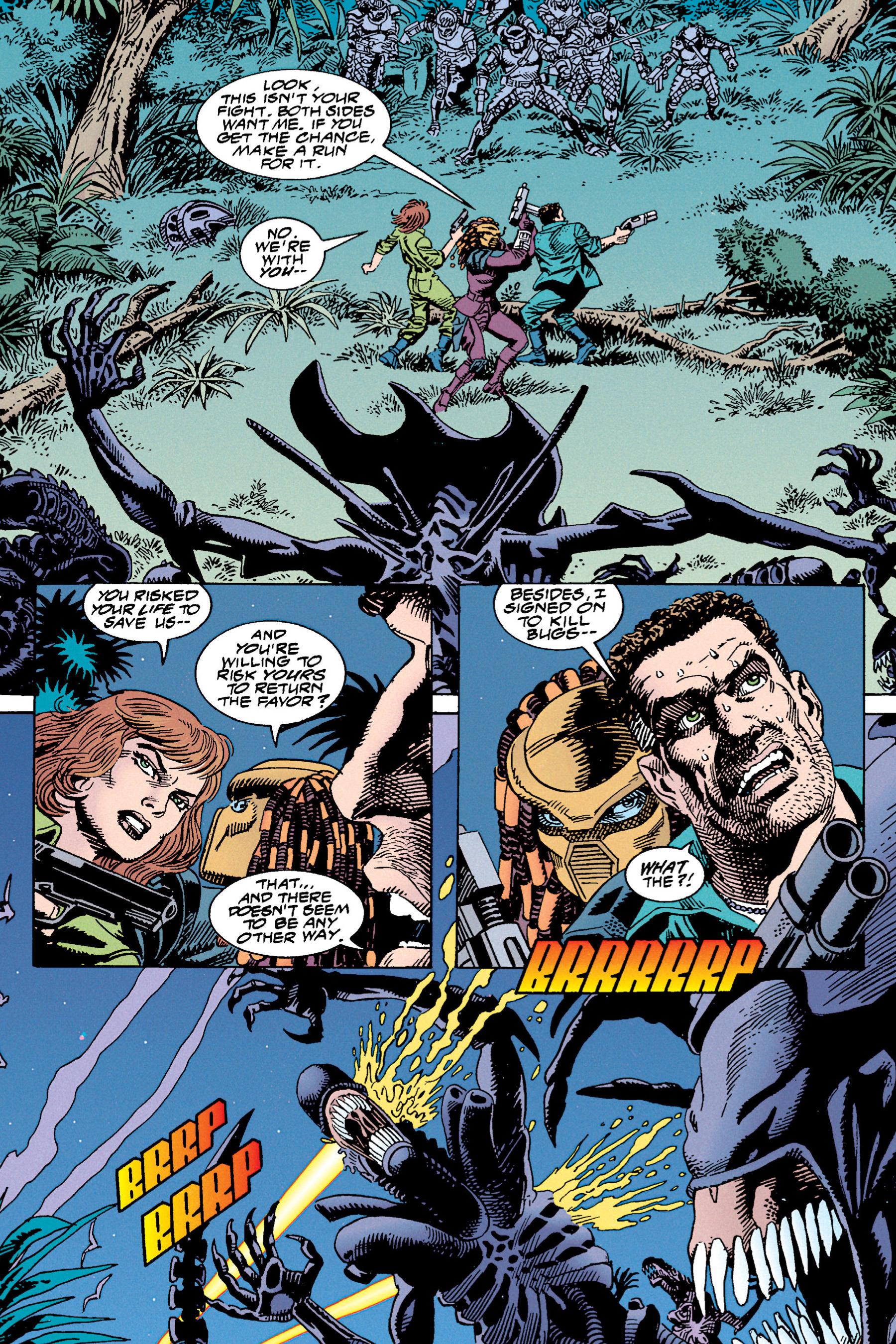 Read online Aliens vs. Predator Omnibus comic -  Issue # _TPB 1 Part 4 - 20