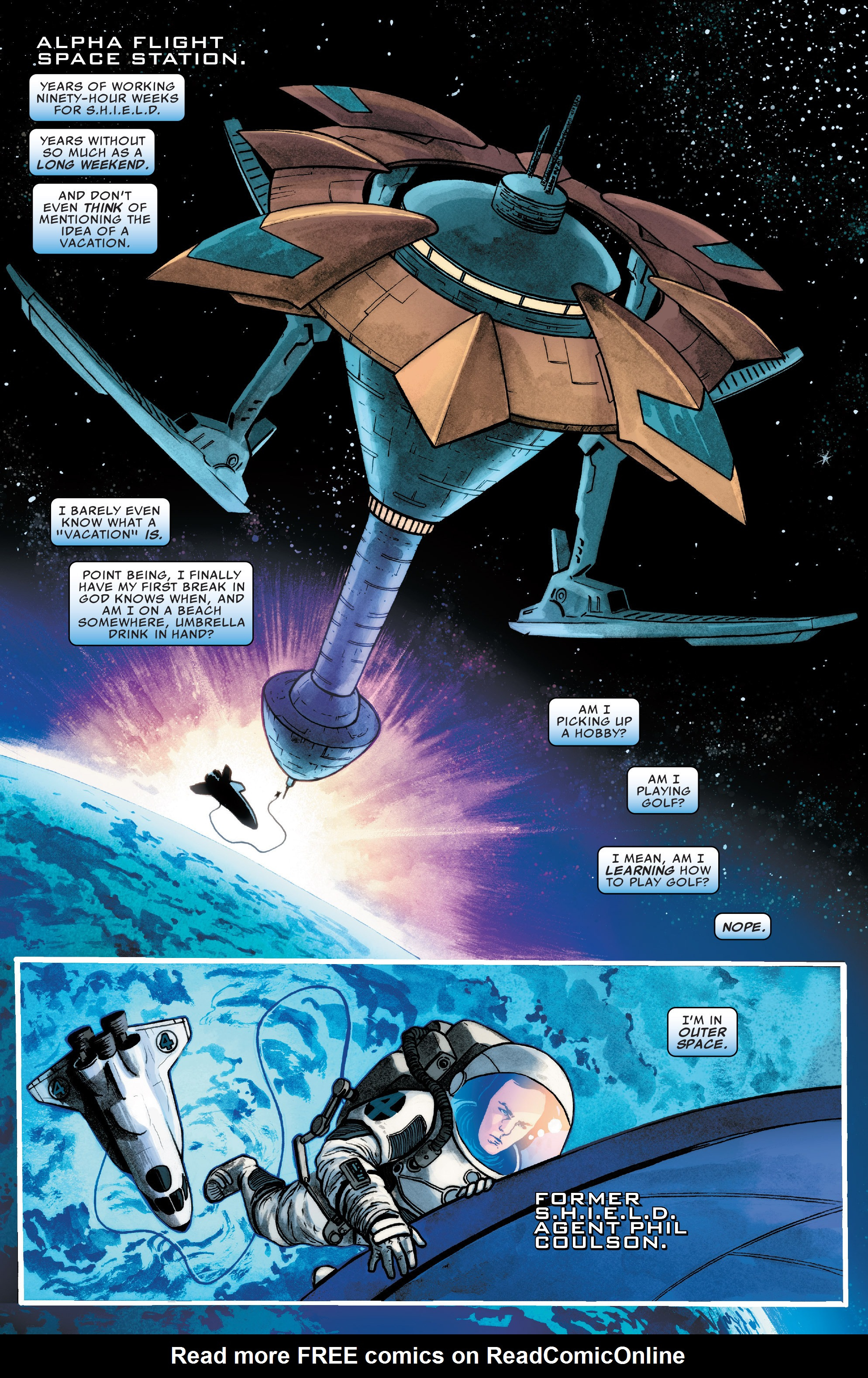 Read online Agents of S.H.I.E.L.D. comic -  Issue #8 - 2