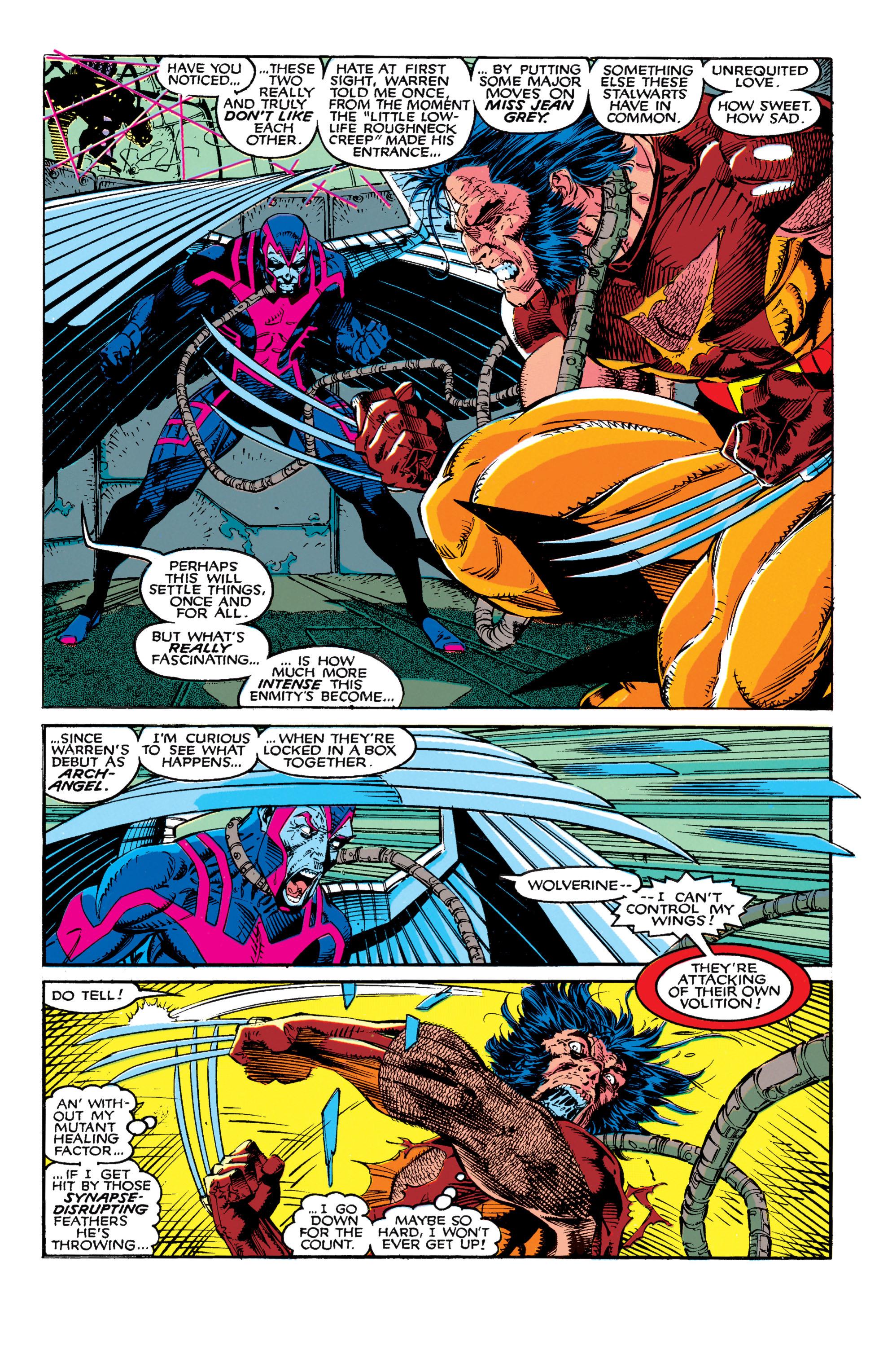 Read online Uncanny X-Men (1963) comic -  Issue #272 - 12