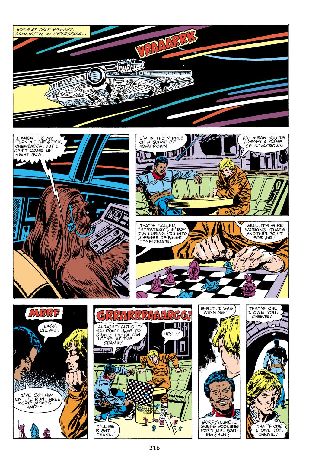 Read online Star Wars Omnibus comic -  Issue # Vol. 16 - 213