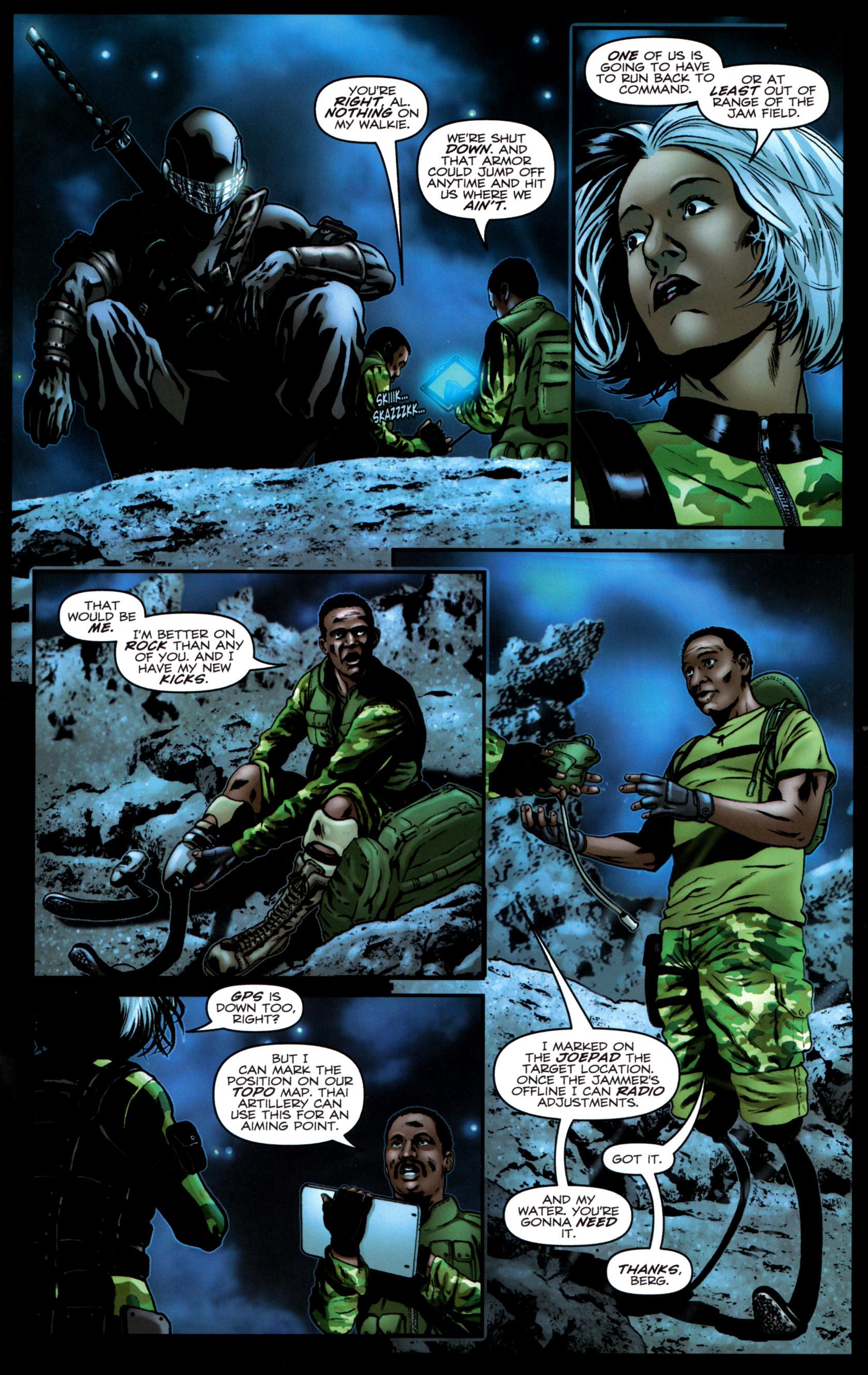 Read online G.I. Joe: Snake Eyes comic -  Issue #9 - 16