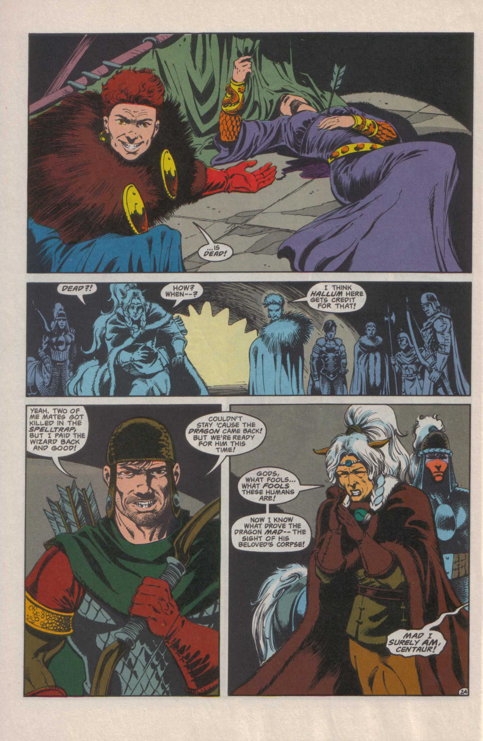 Read online Advanced Dungeons & Dragons comic -  Issue #25 - 25