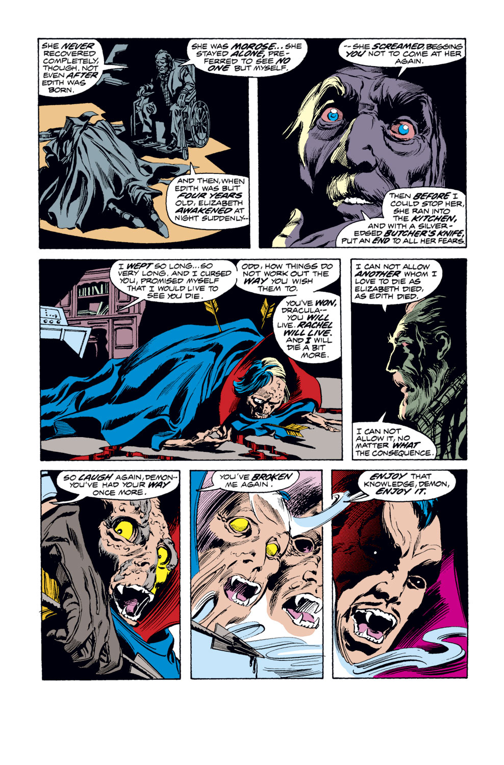 Tomb of Dracula (1972) issue 33 - Page 8