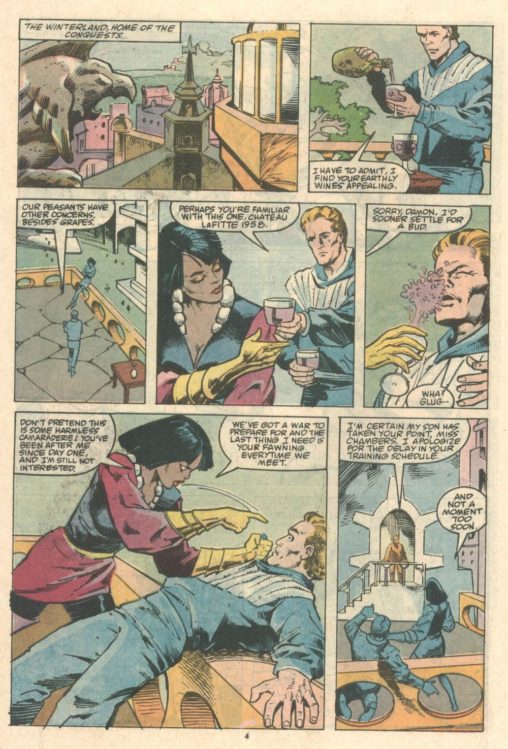 Read online Justice (1986) comic -  Issue #8 - 5