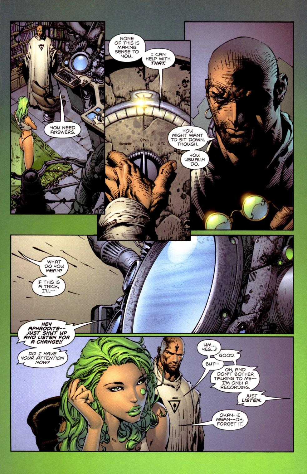 Read online Aphrodite IX (2000) comic -  Issue #1 - 12