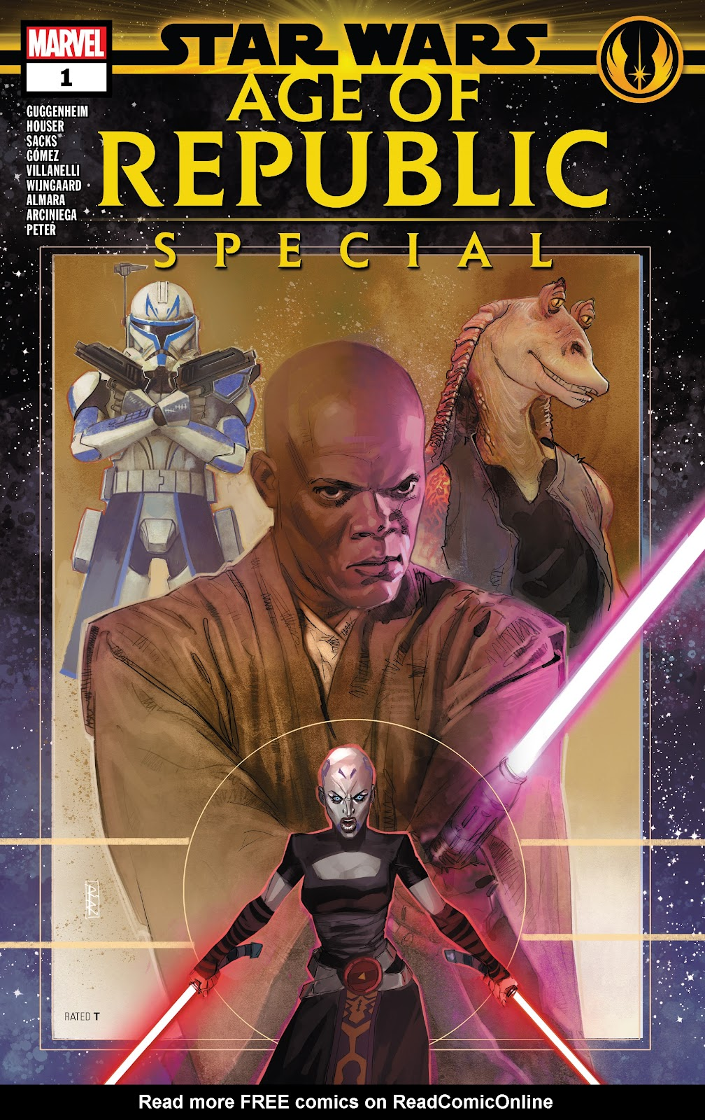 Read online Star Wars: Age of Republic Special comic -  Issue # Full - 1