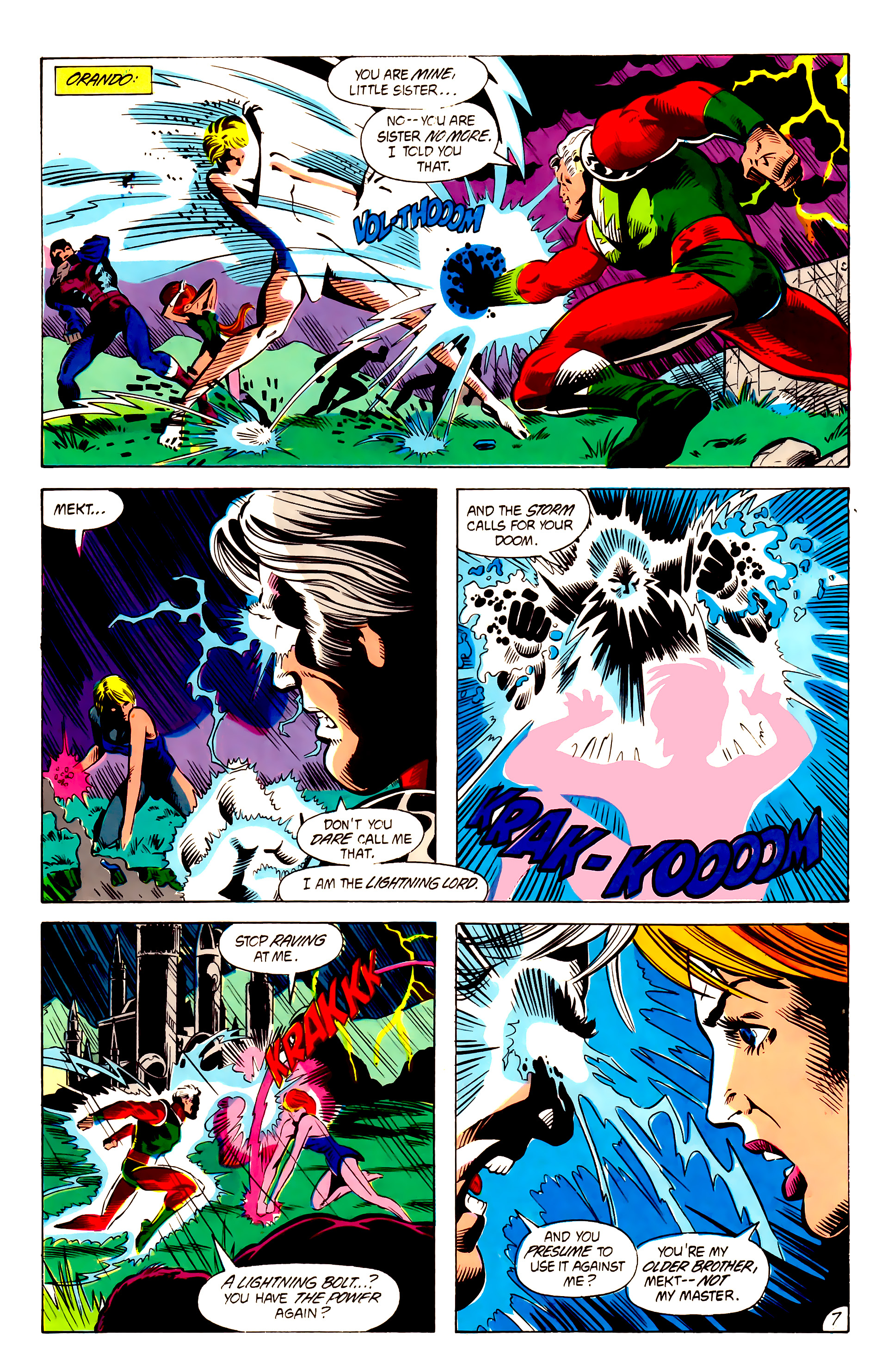 Legion of Super-Heroes (1984) 5 Page 8