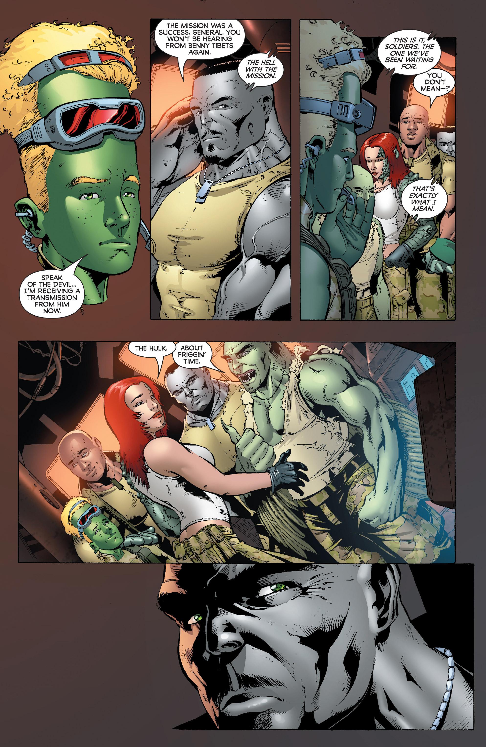 Read online World War Hulk: Gamma Corps comic -  Issue #1 - 23