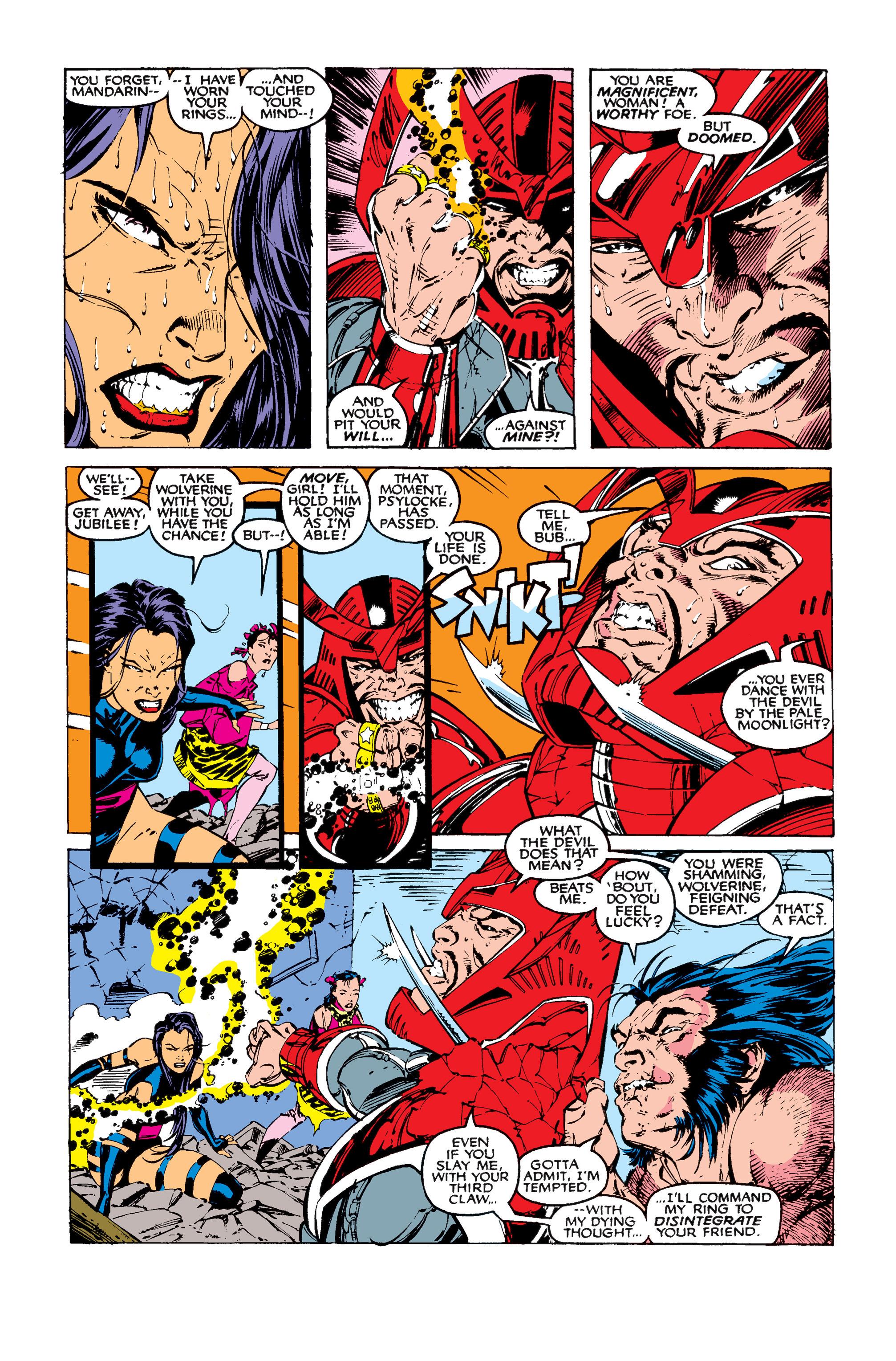Read online Uncanny X-Men (1963) comic -  Issue #258 - 23