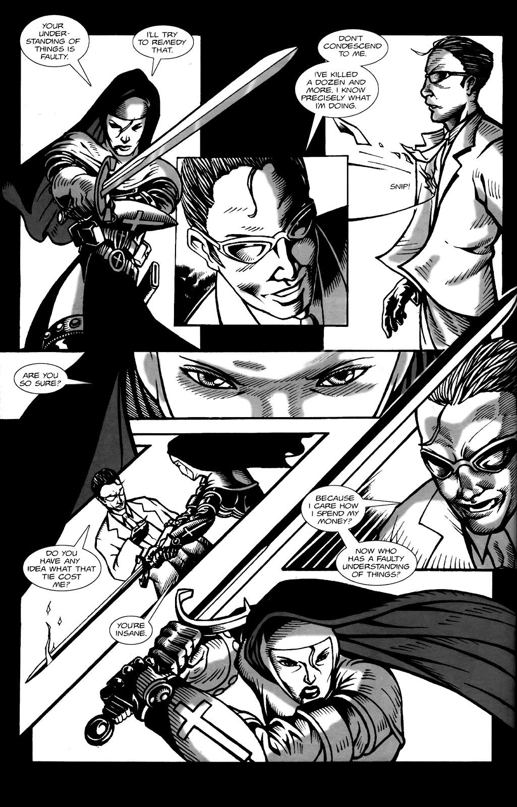 Warrior Nun Areala:  Dangerous Game Issue #1 #1 - English 33