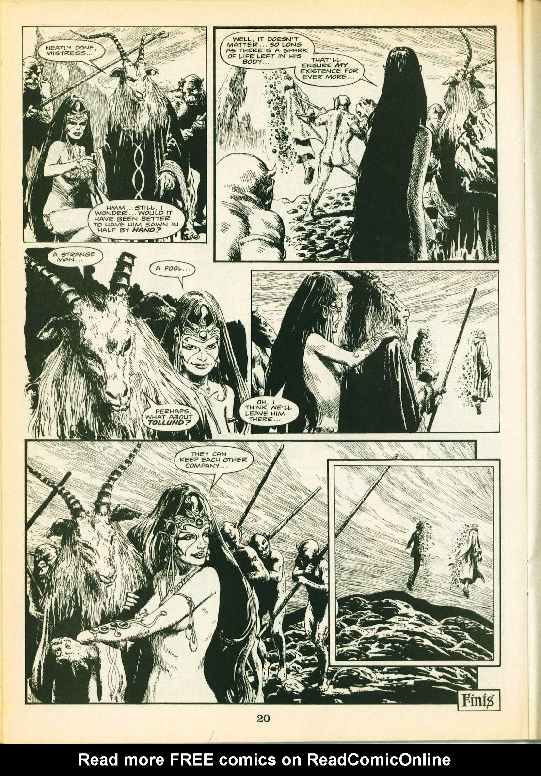 Warrior Issue #24 #25 - English 20