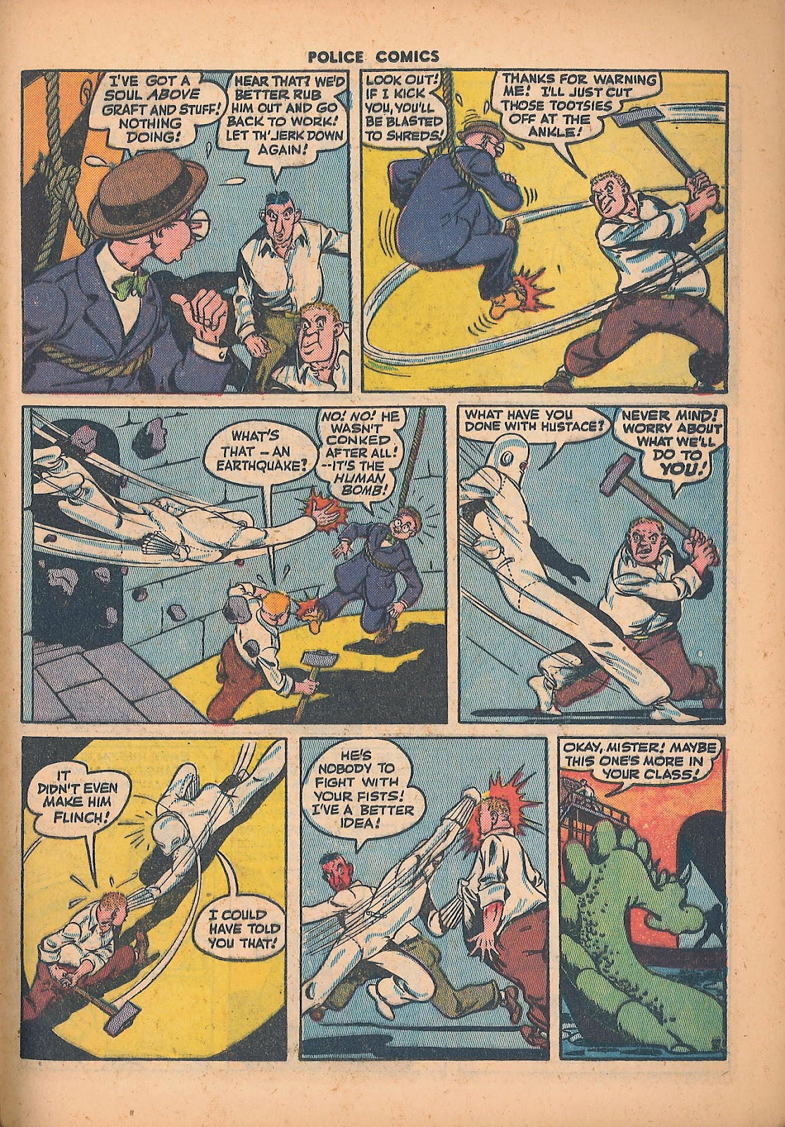 Police Comics issue 44 - Page 41