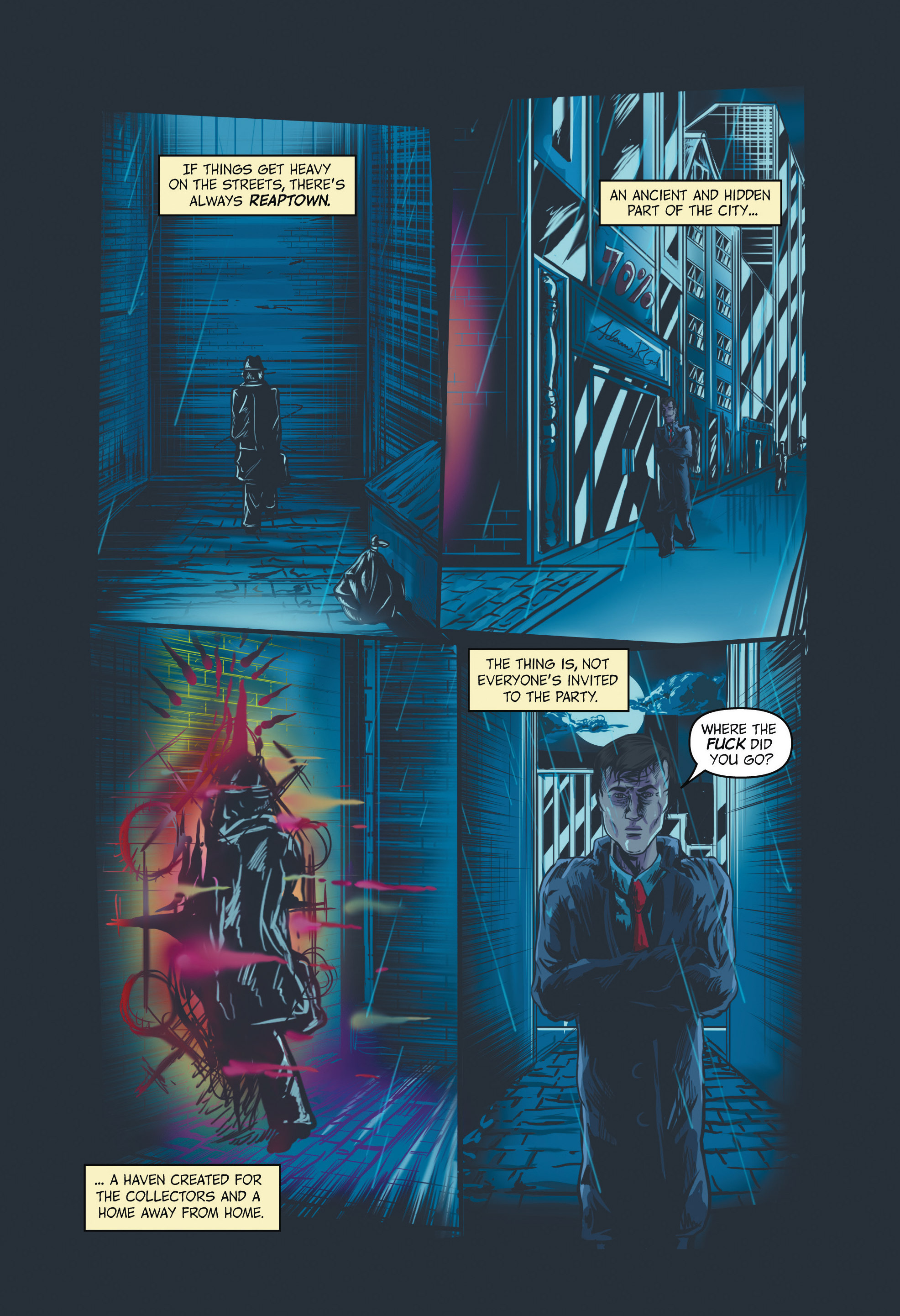 Read online Redemption Heights comic -  Issue # Full - 32