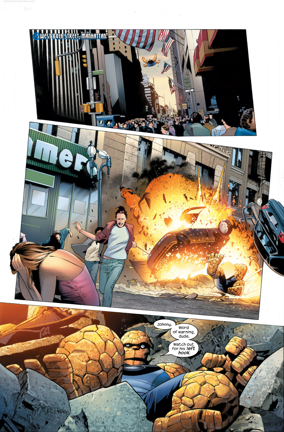Read online Ultimate Fantastic Four (2004) comic -  Issue #26 - 2