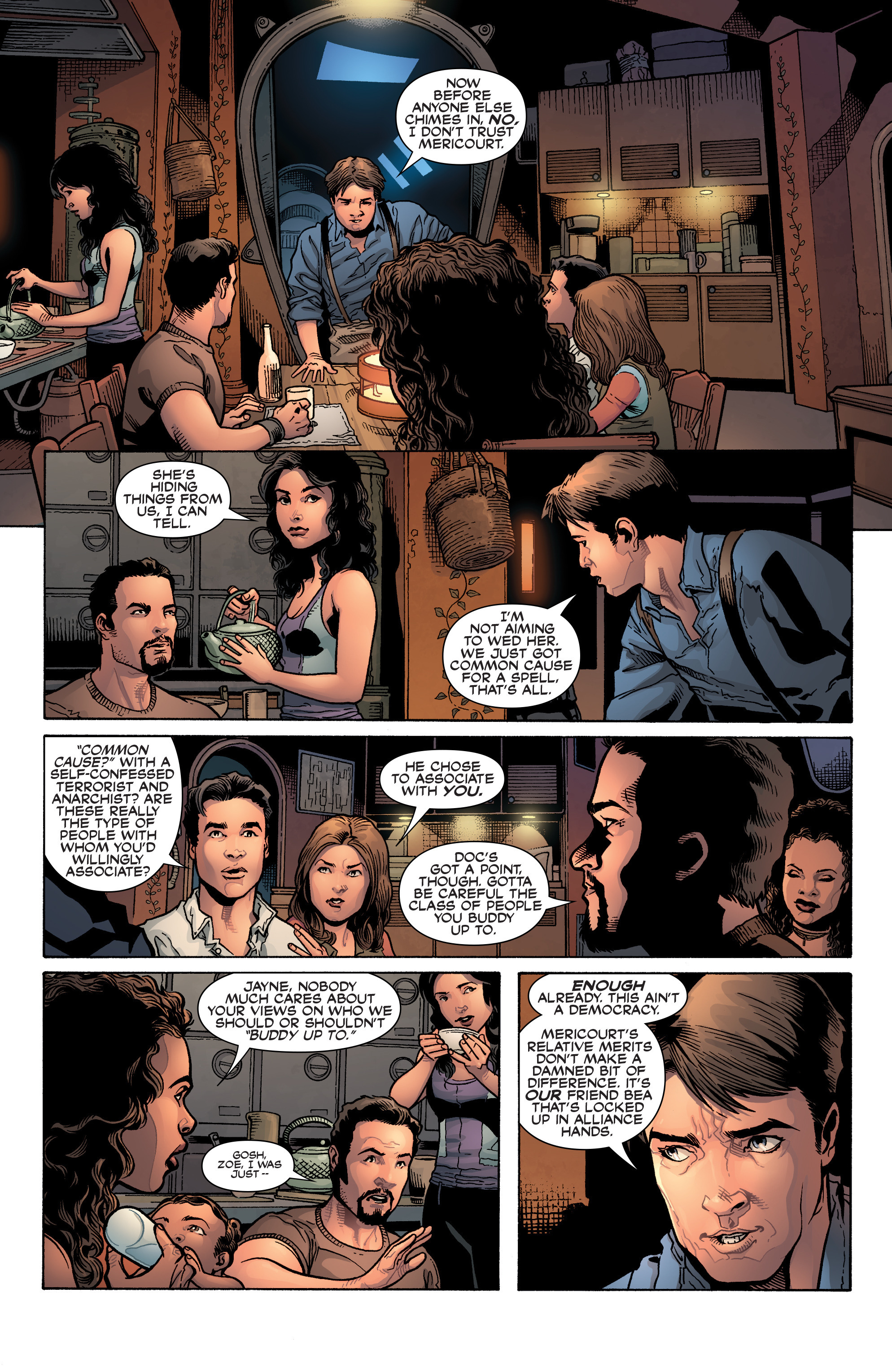 Read online Serenity: Firefly Class 03-K64 – No Power in the 'Verse comic -  Issue #3 - 11