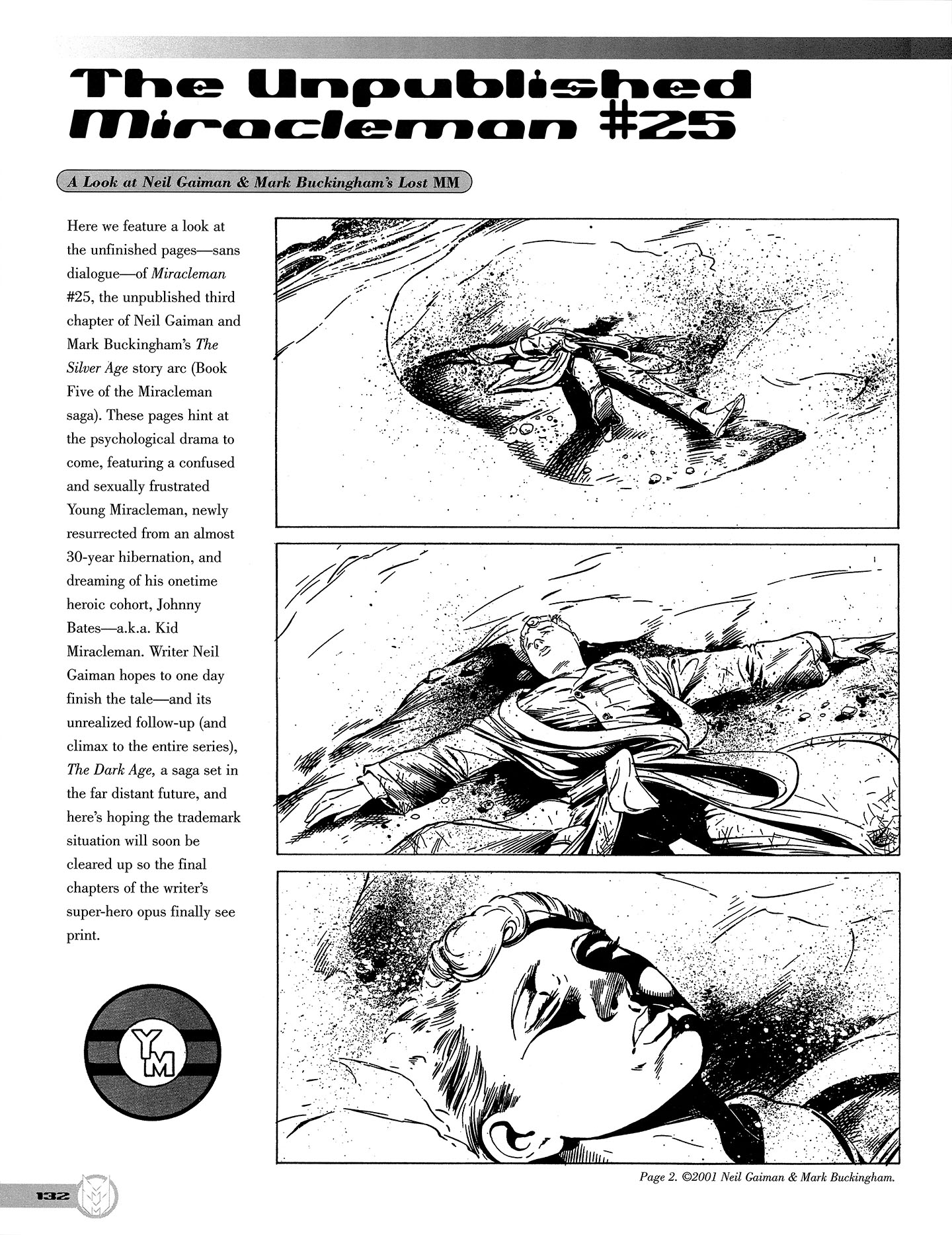 Read online Kimota!: The Miracleman Companion comic -  Issue # Full - 133