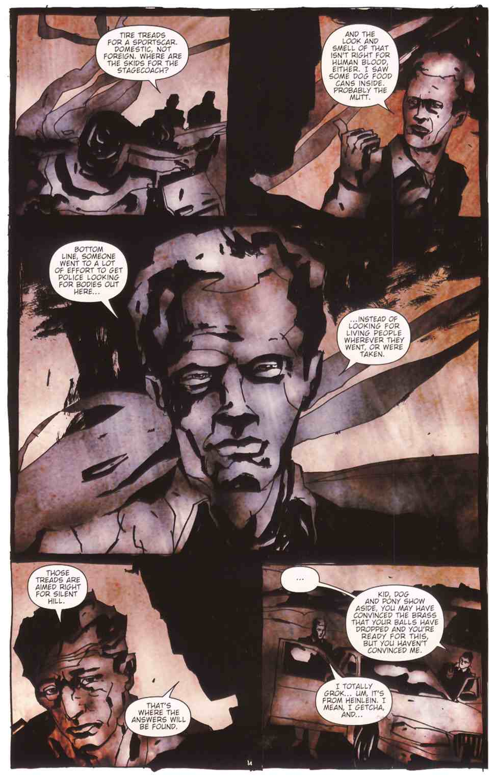 Read online Silent Hill: The Grinning Man comic -  Issue # Full - 16