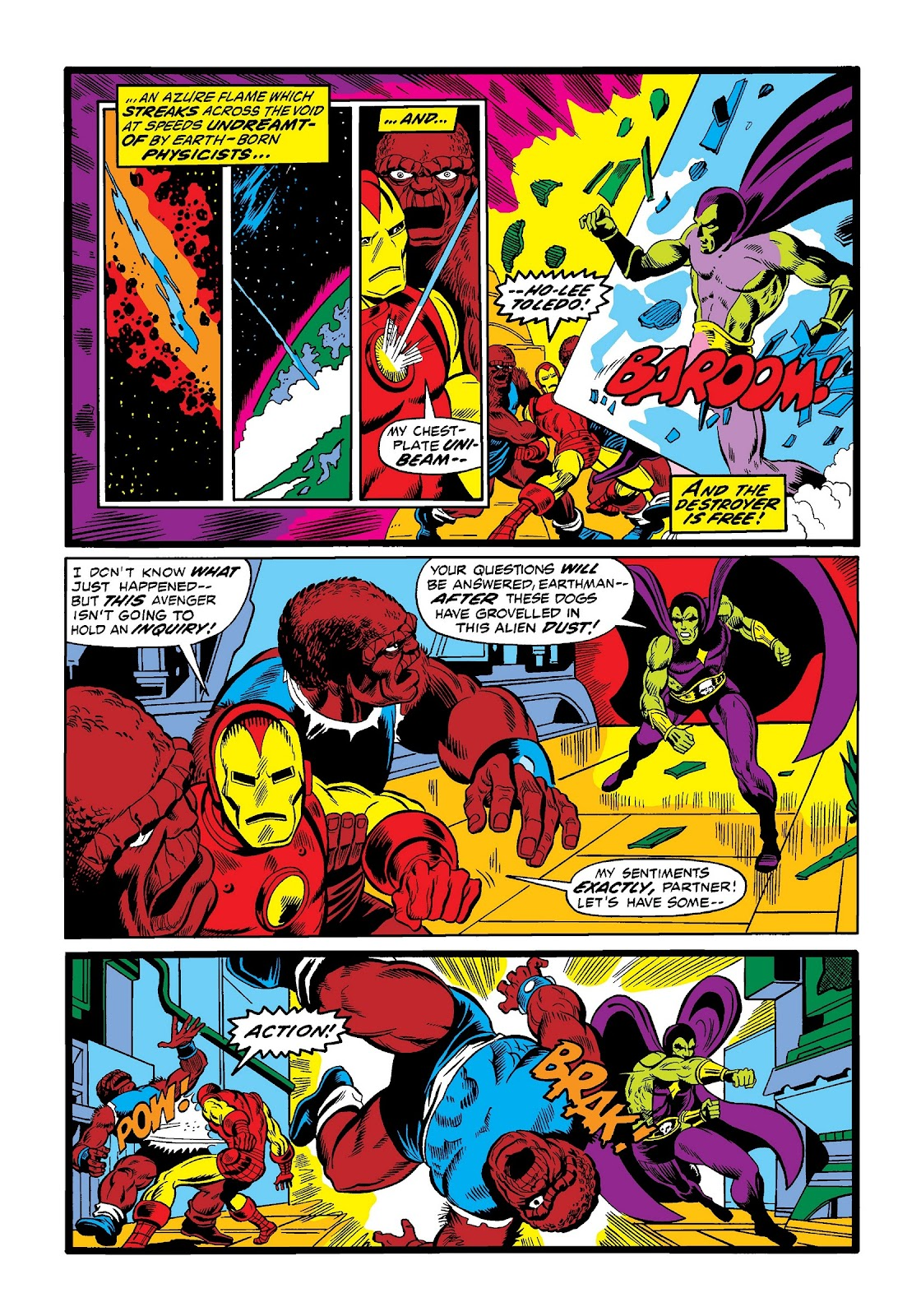 Read online Marvel Masterworks: The Invincible Iron Man comic -  Issue # TPB 9 (Part 1) - 43