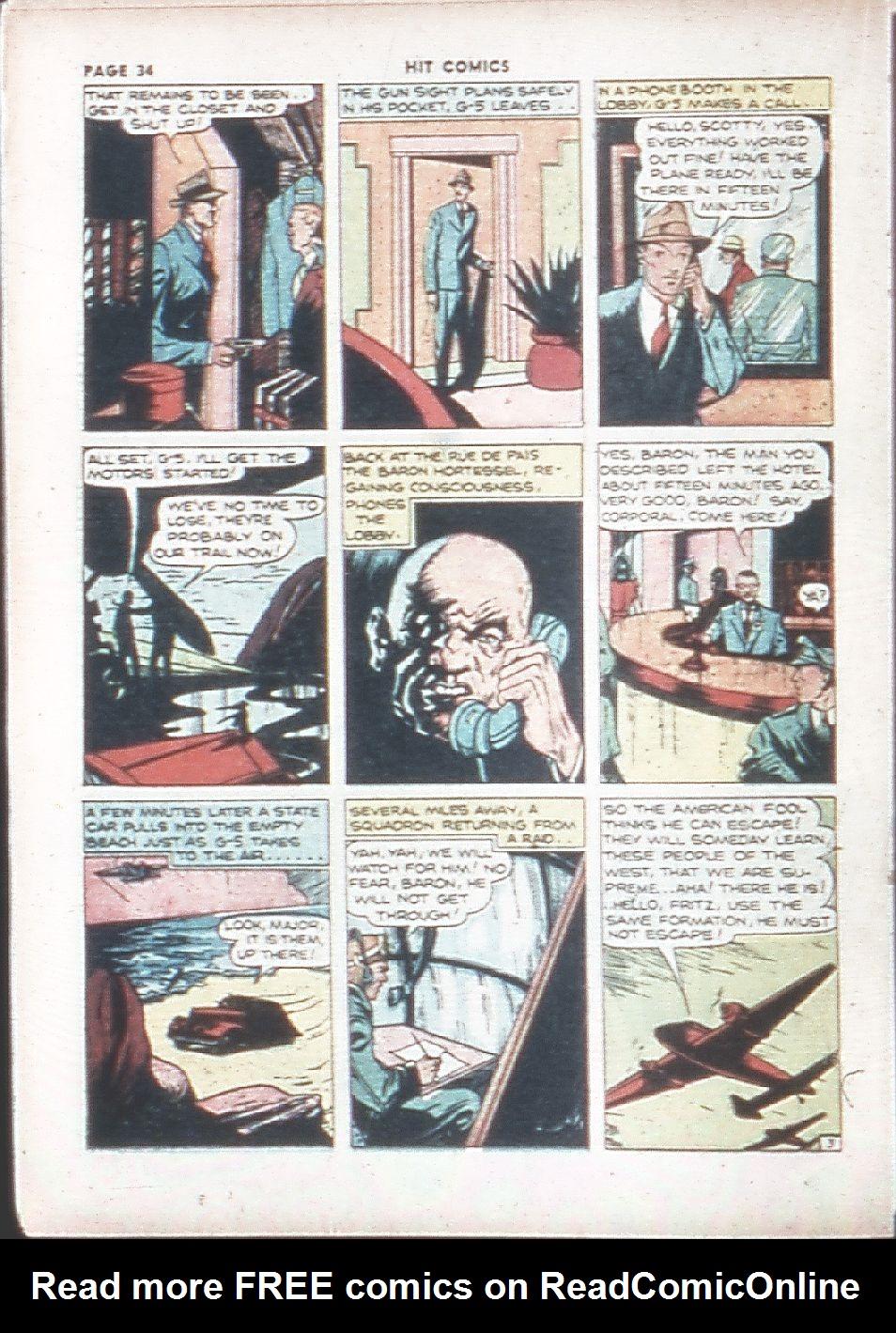 Read online Hit Comics comic -  Issue #7 - 36