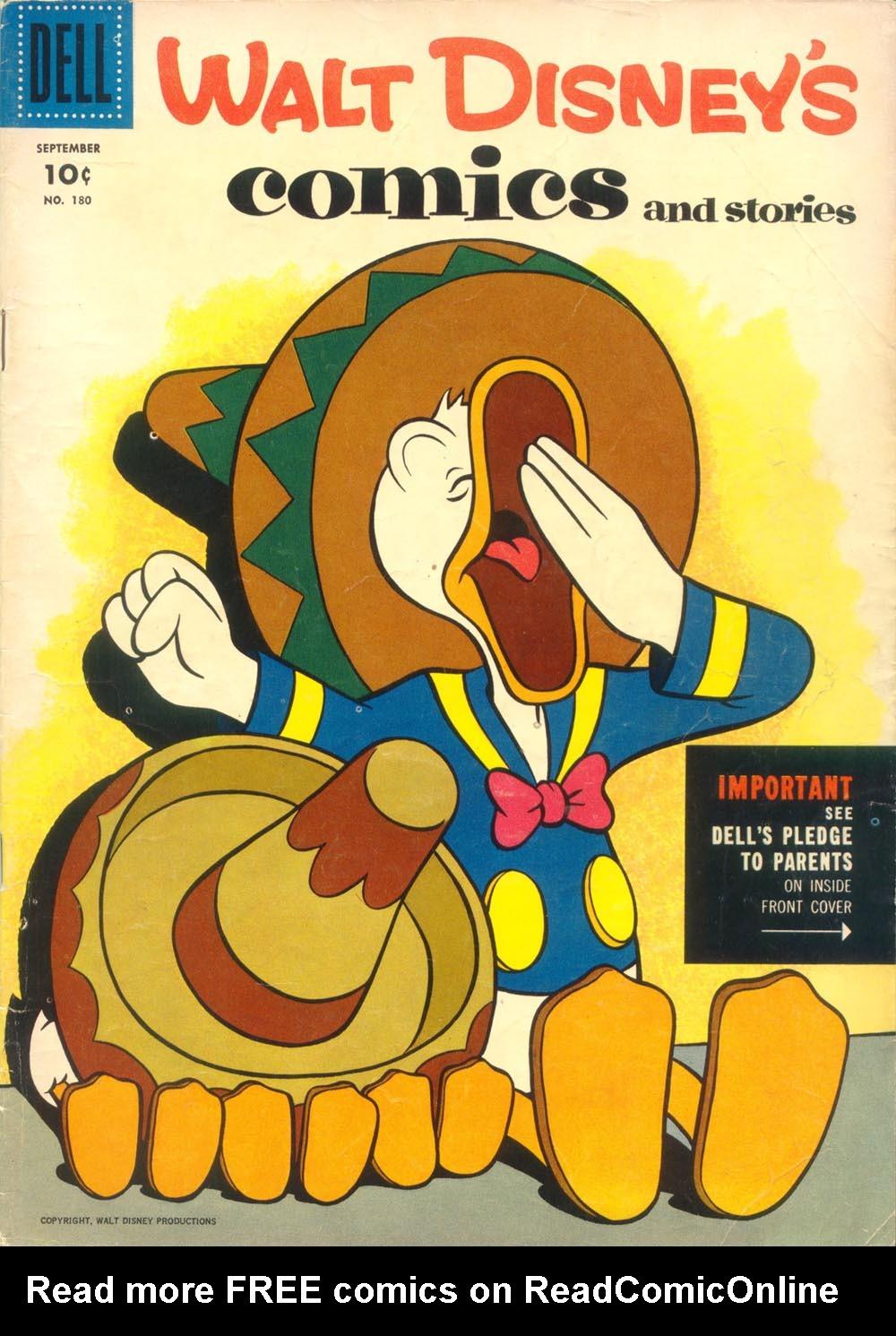 Walt Disneys Comics and Stories 180 Page 1