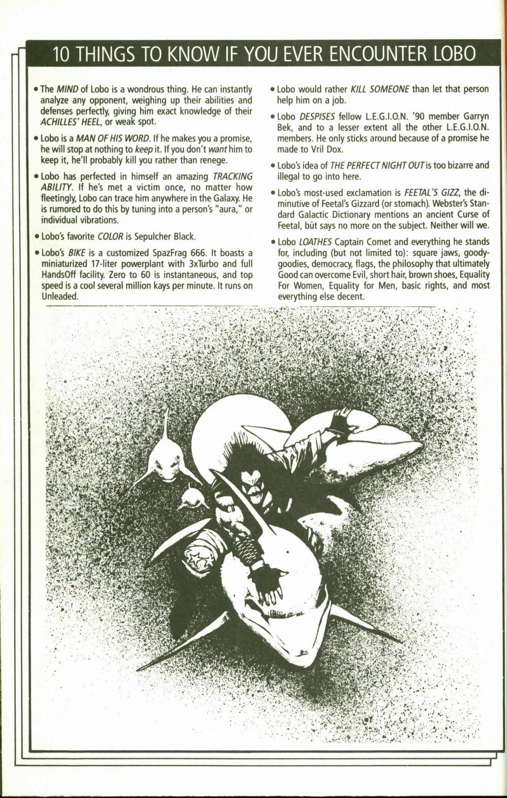 Read online Lobo (1990) comic -  Issue #2 - 9