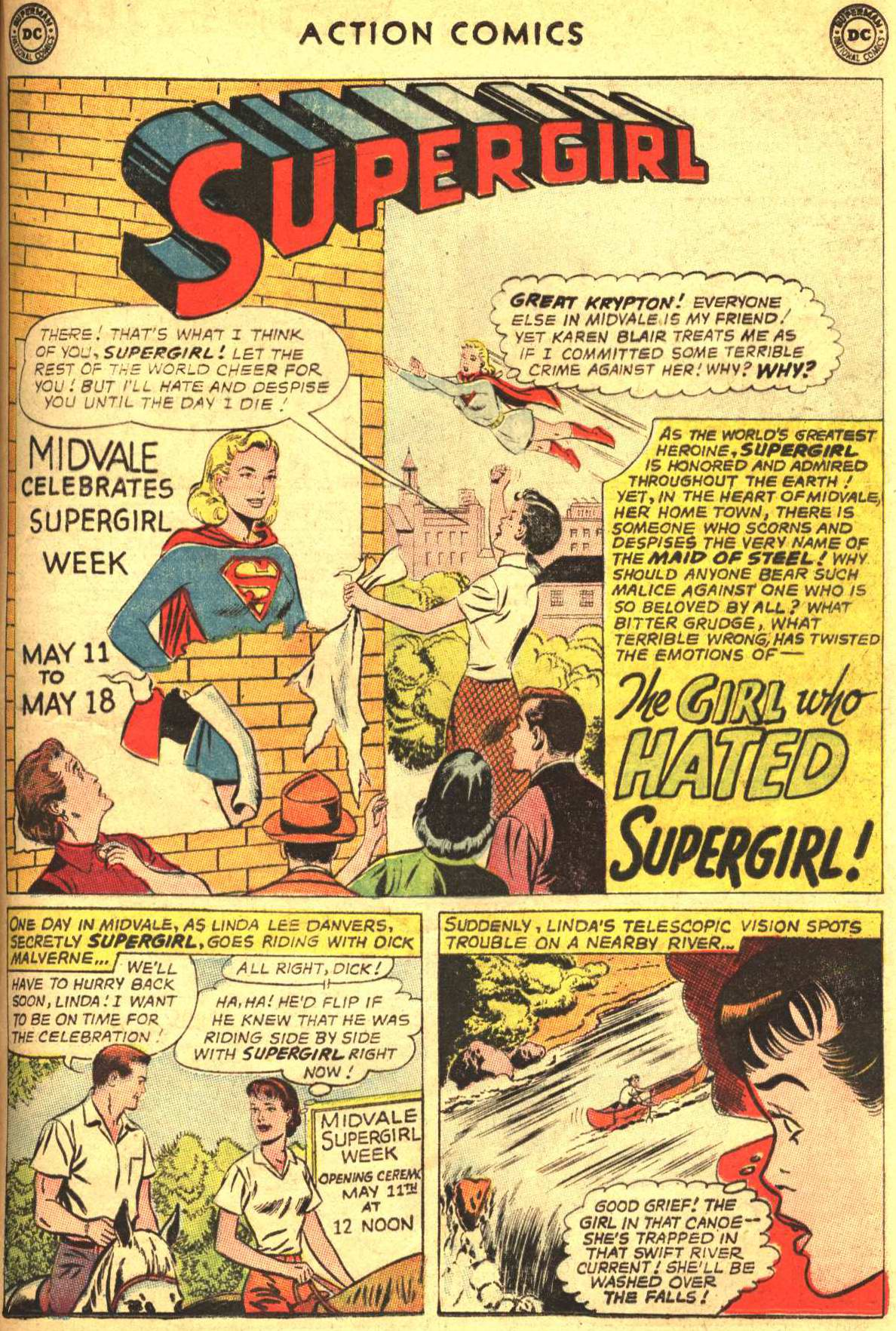 Read online Action Comics (1938) comic -  Issue #305 - 21