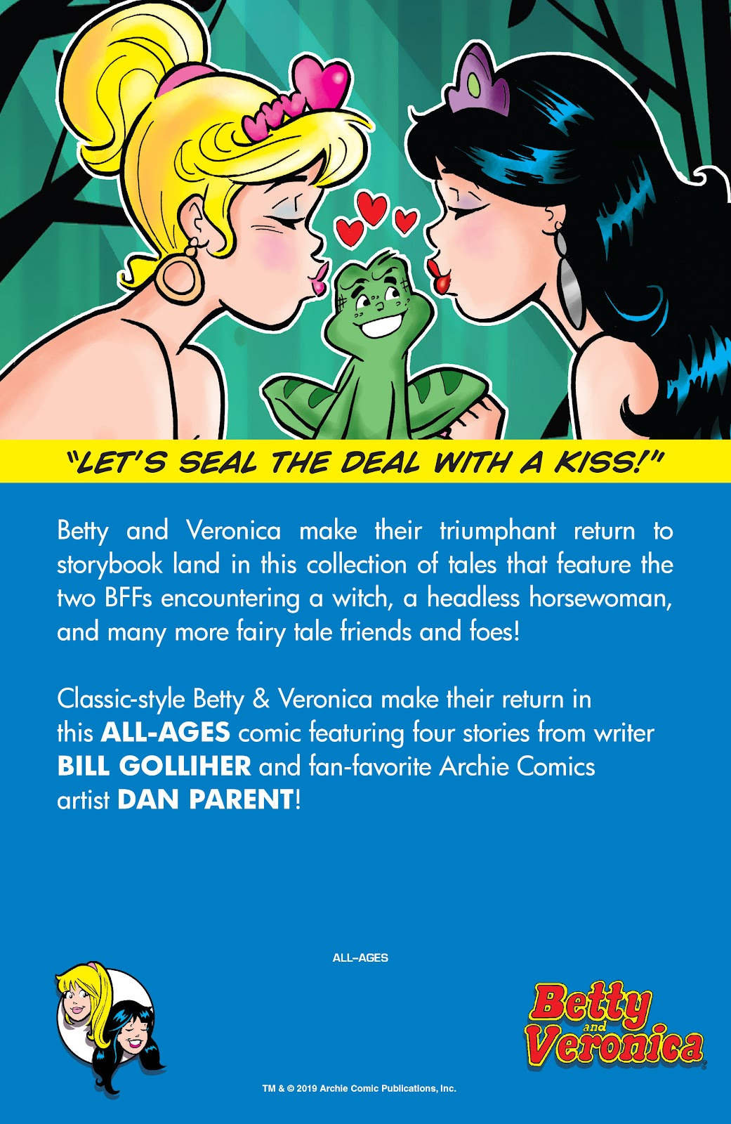Read online Betty & Veronica Friends Forever: Return To Storybook Land comic -  Issue # Full - 24