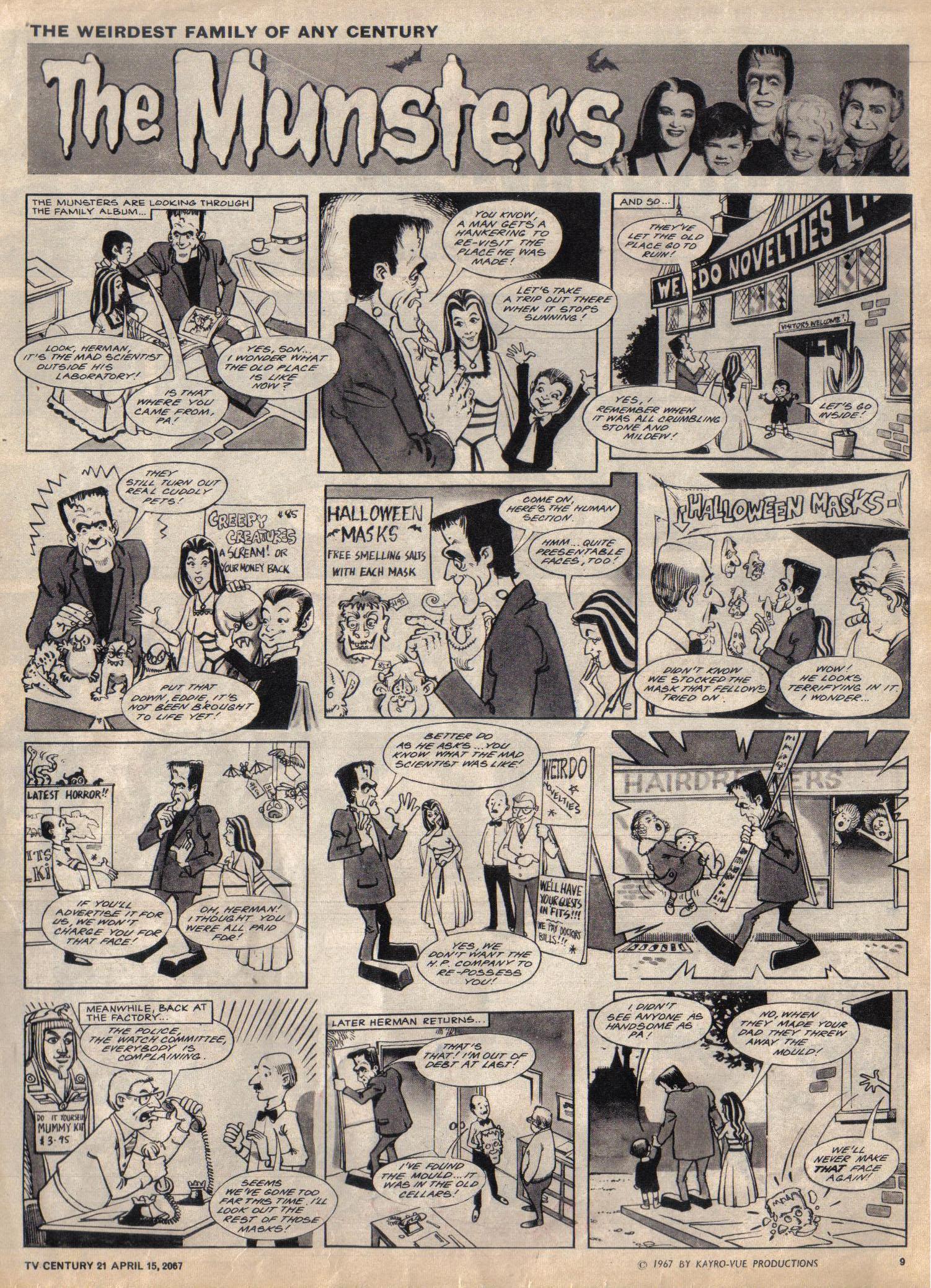 Read online TV Century 21 (TV 21) comic -  Issue #117 - 9