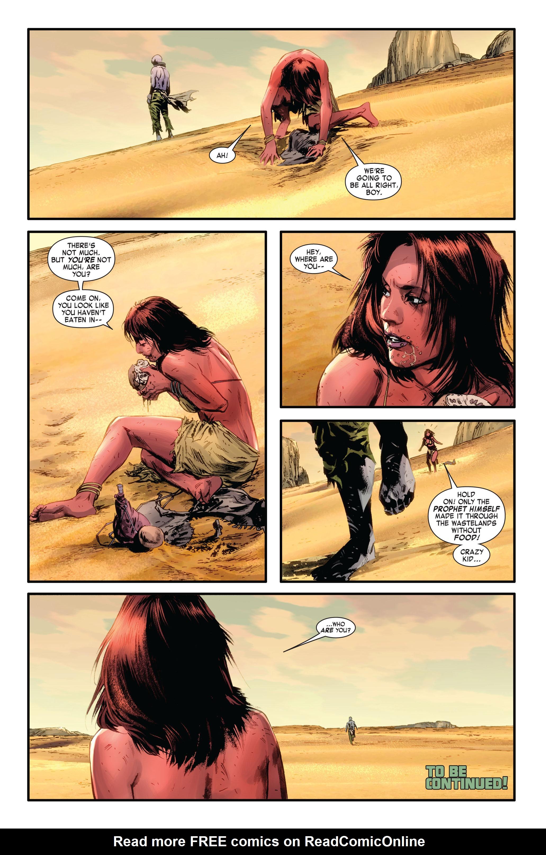 Read online Skaar: Son of Hulk comic -  Issue #4 - 23