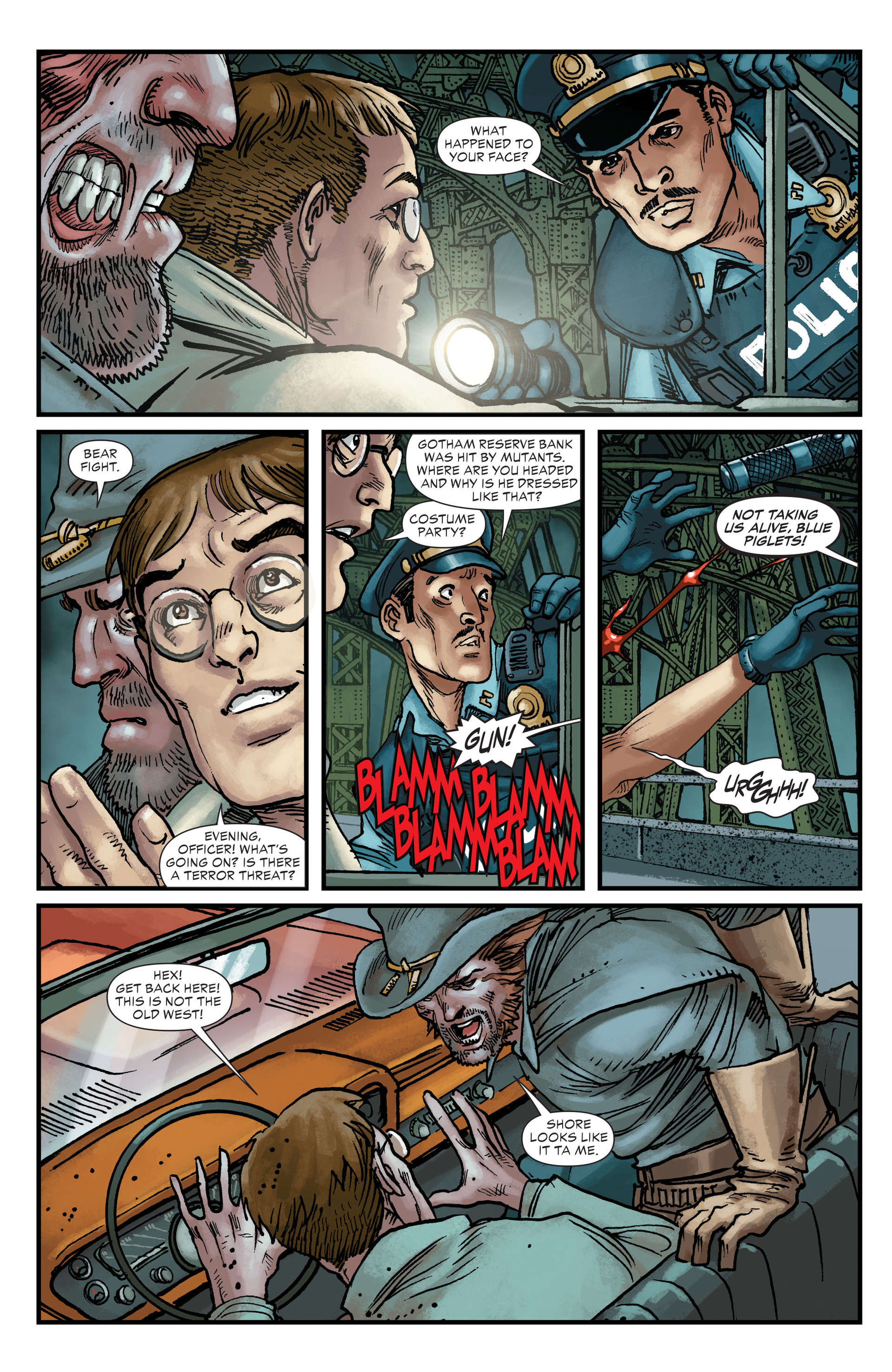 Read online All-Star Western (2011) comic -  Issue #22 - 24