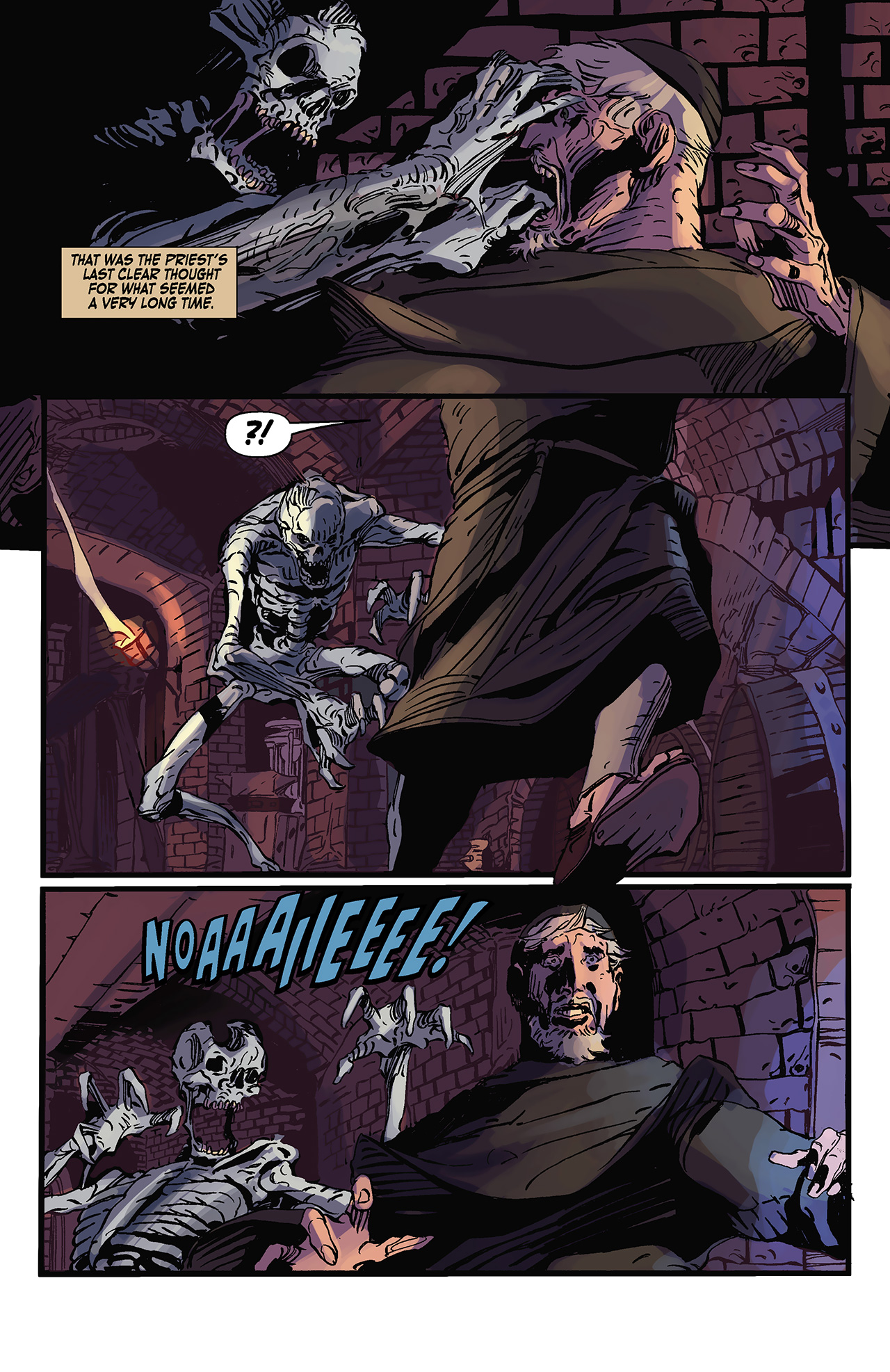 Read online Solomon Kane: Death's Black Riders comic -  Issue #3 - 12