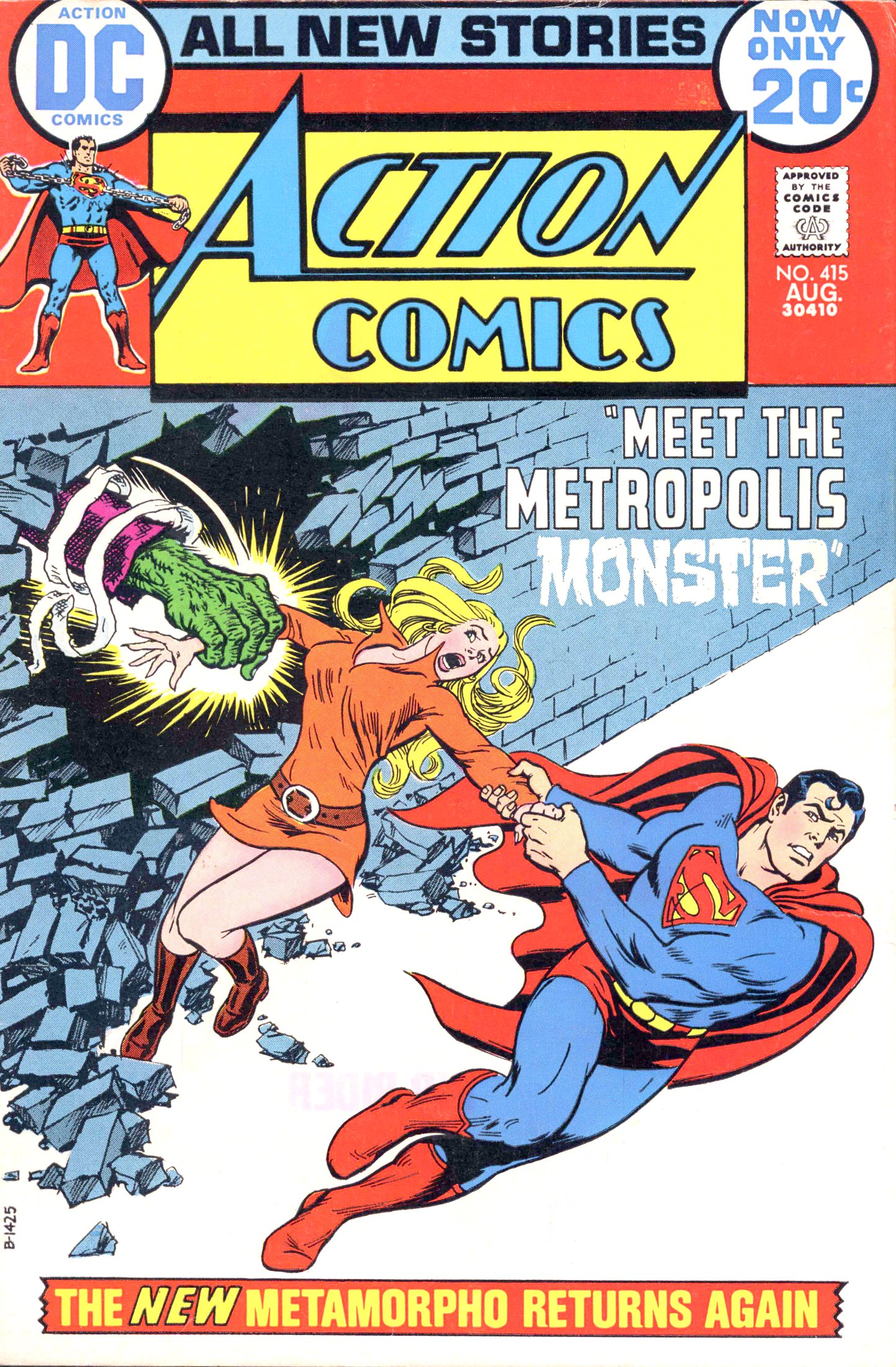 Read online Action Comics (1938) comic -  Issue #415 - 1