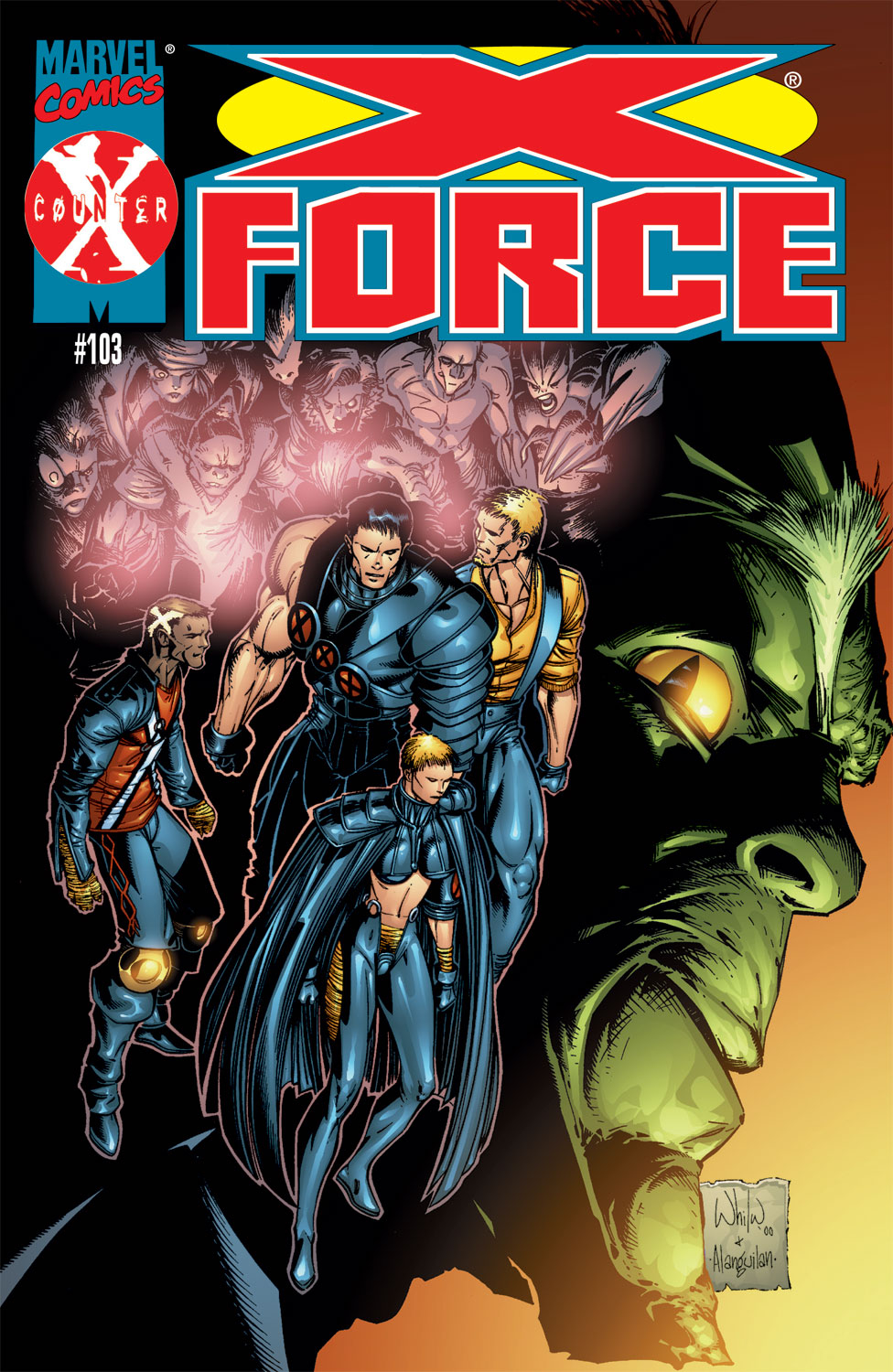 Read online X-Force (1991) comic -  Issue #103 - 1