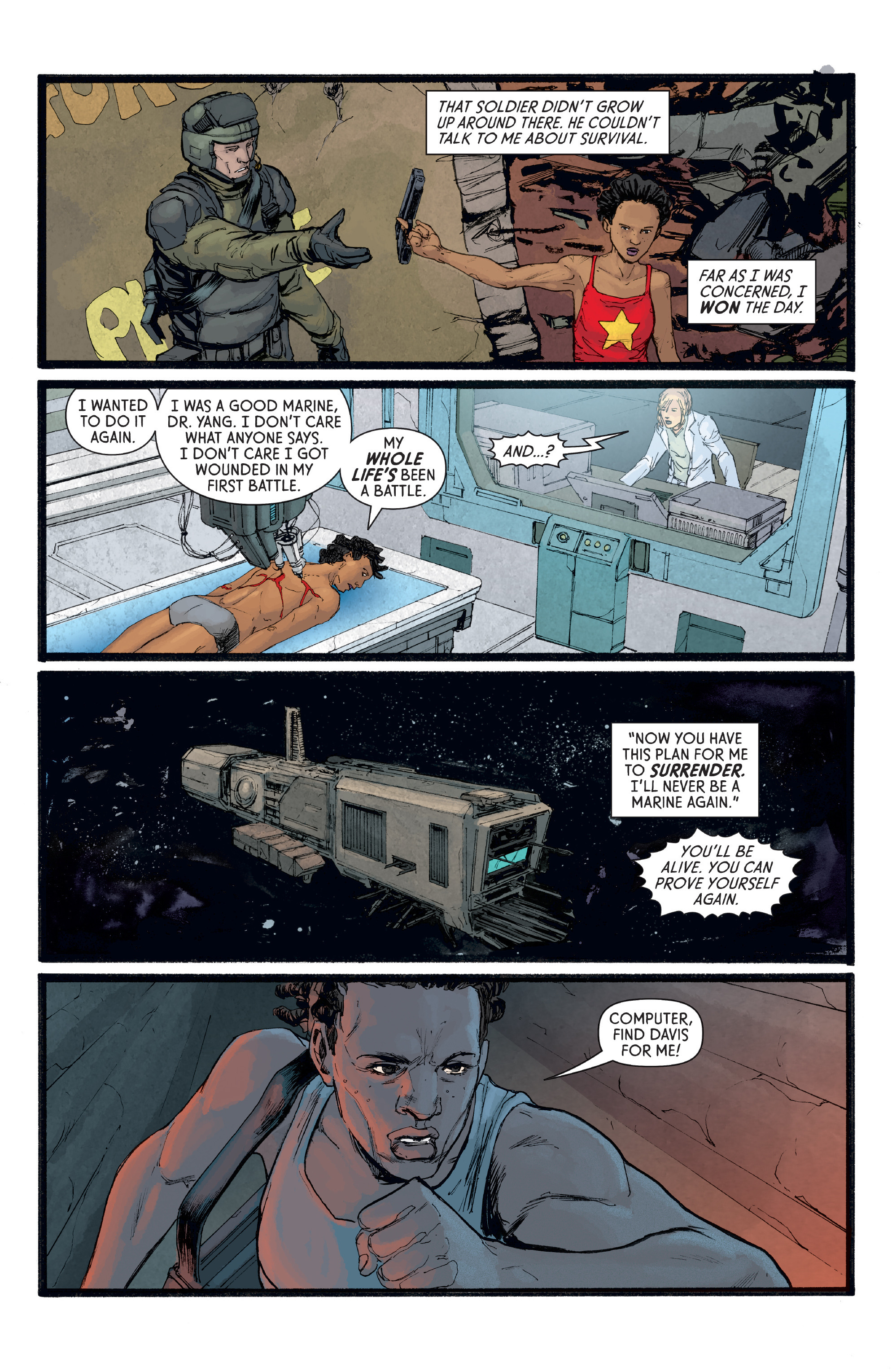 Read online Aliens: Defiance comic -  Issue #8 - 16