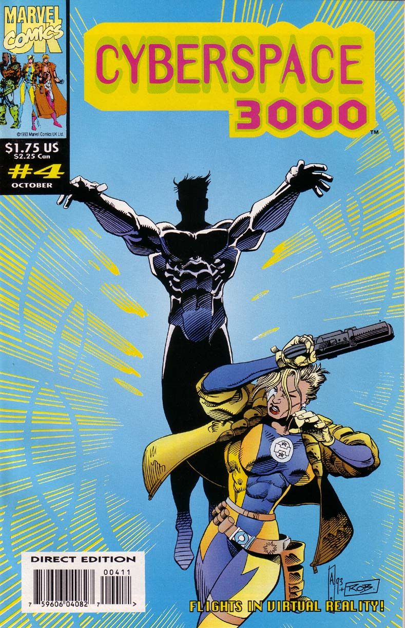 Read online Cyberspace 3000 comic -  Issue #4 - 1