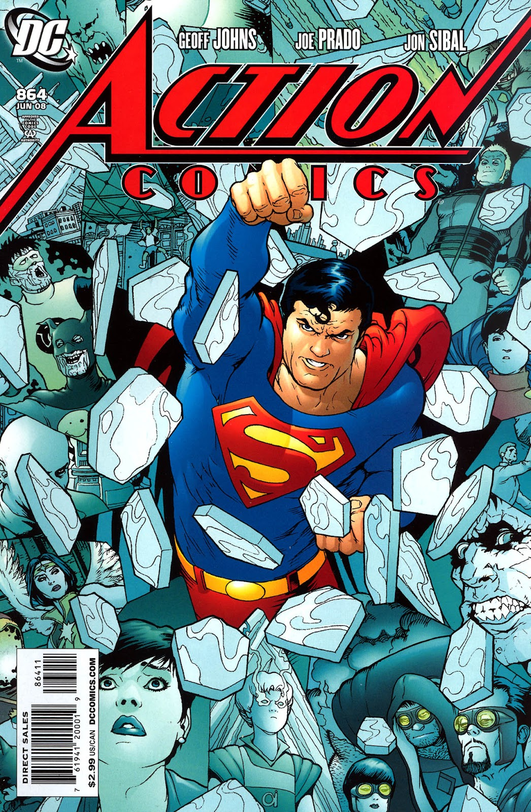Action Comics (1938) 864 Page 1
