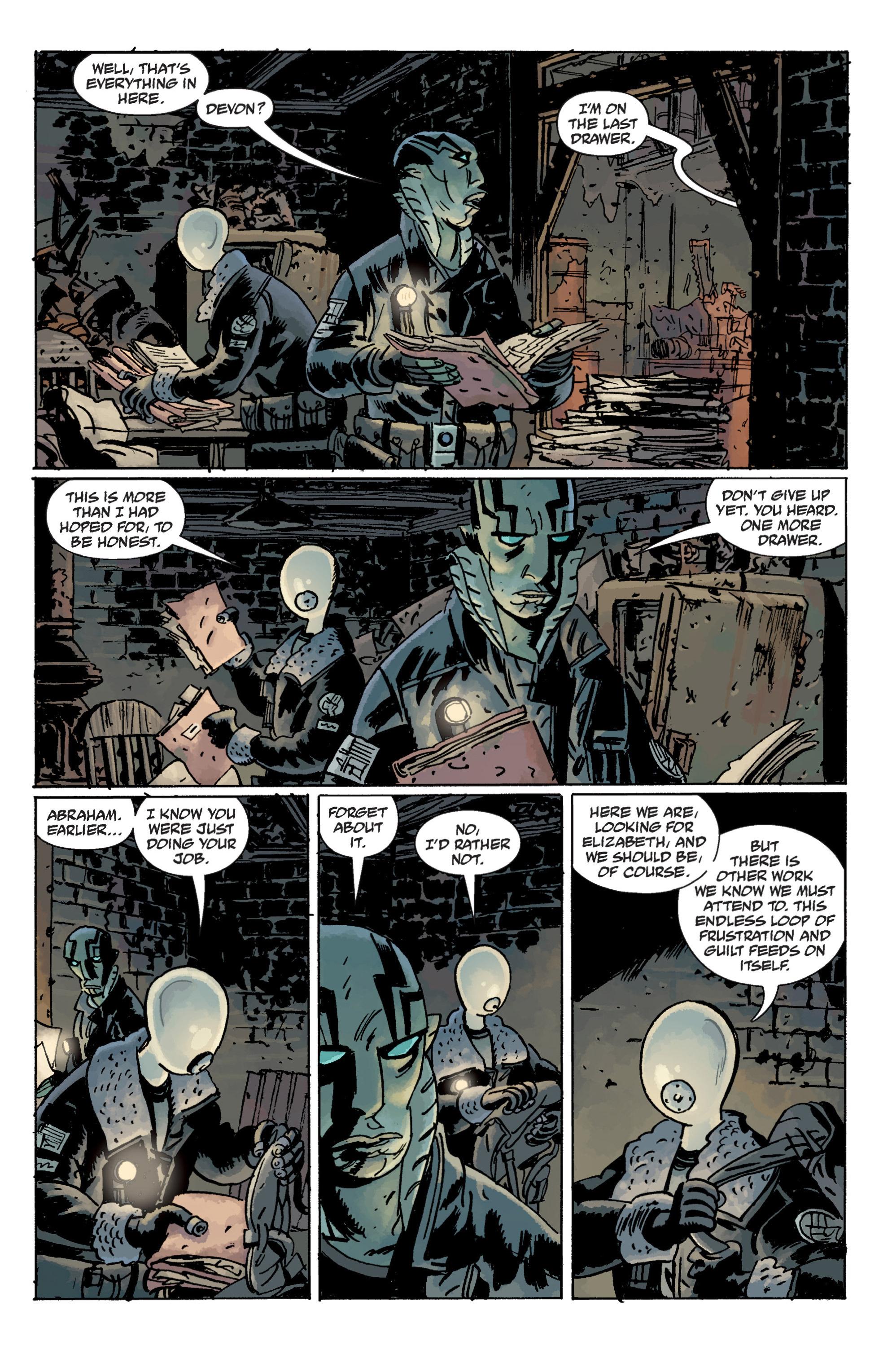 Read online B.P.R.D. (2003) comic -  Issue # TPB 11 - 29