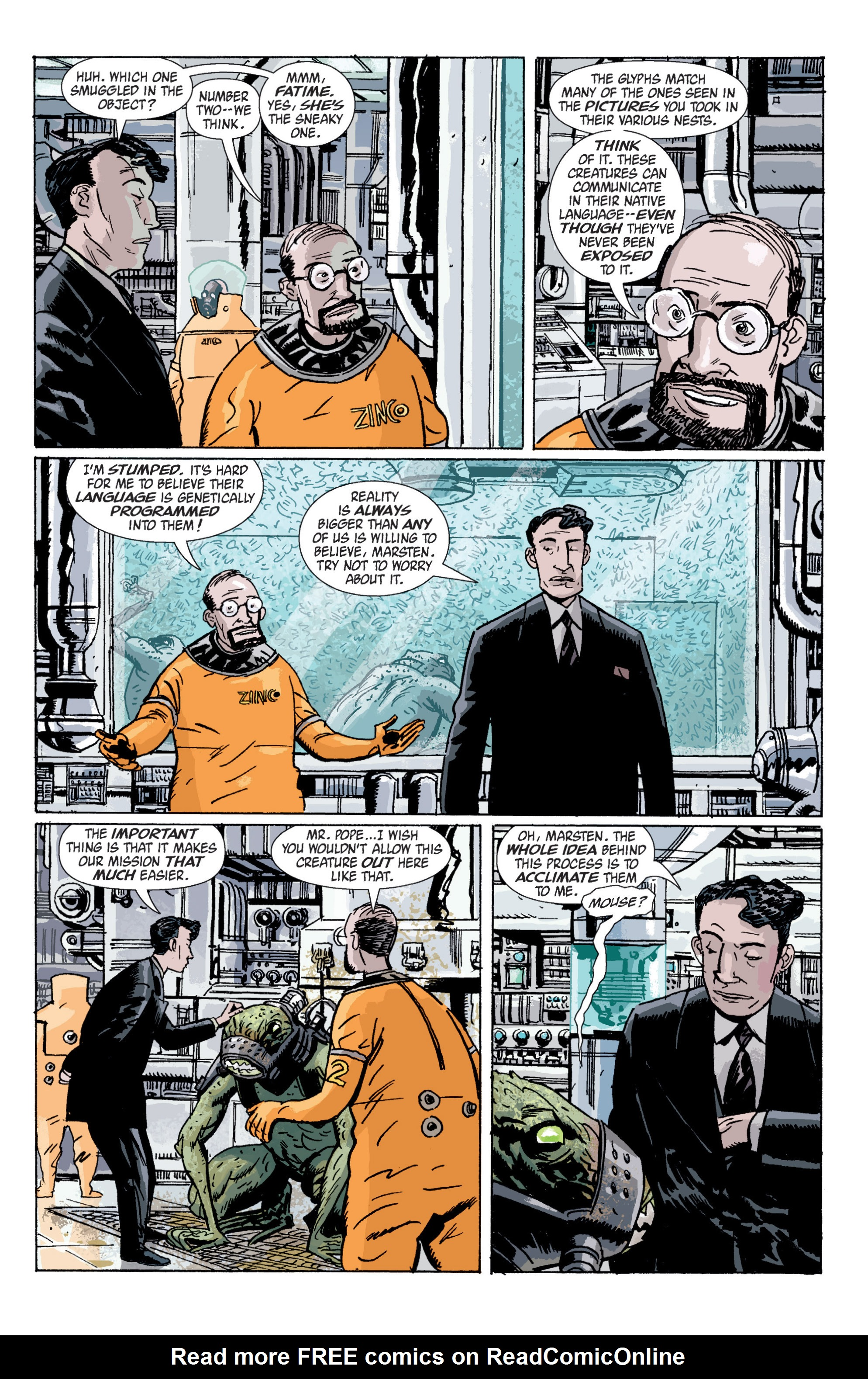 Read online B.P.R.D. (2003) comic -  Issue # TPB 5 - 42