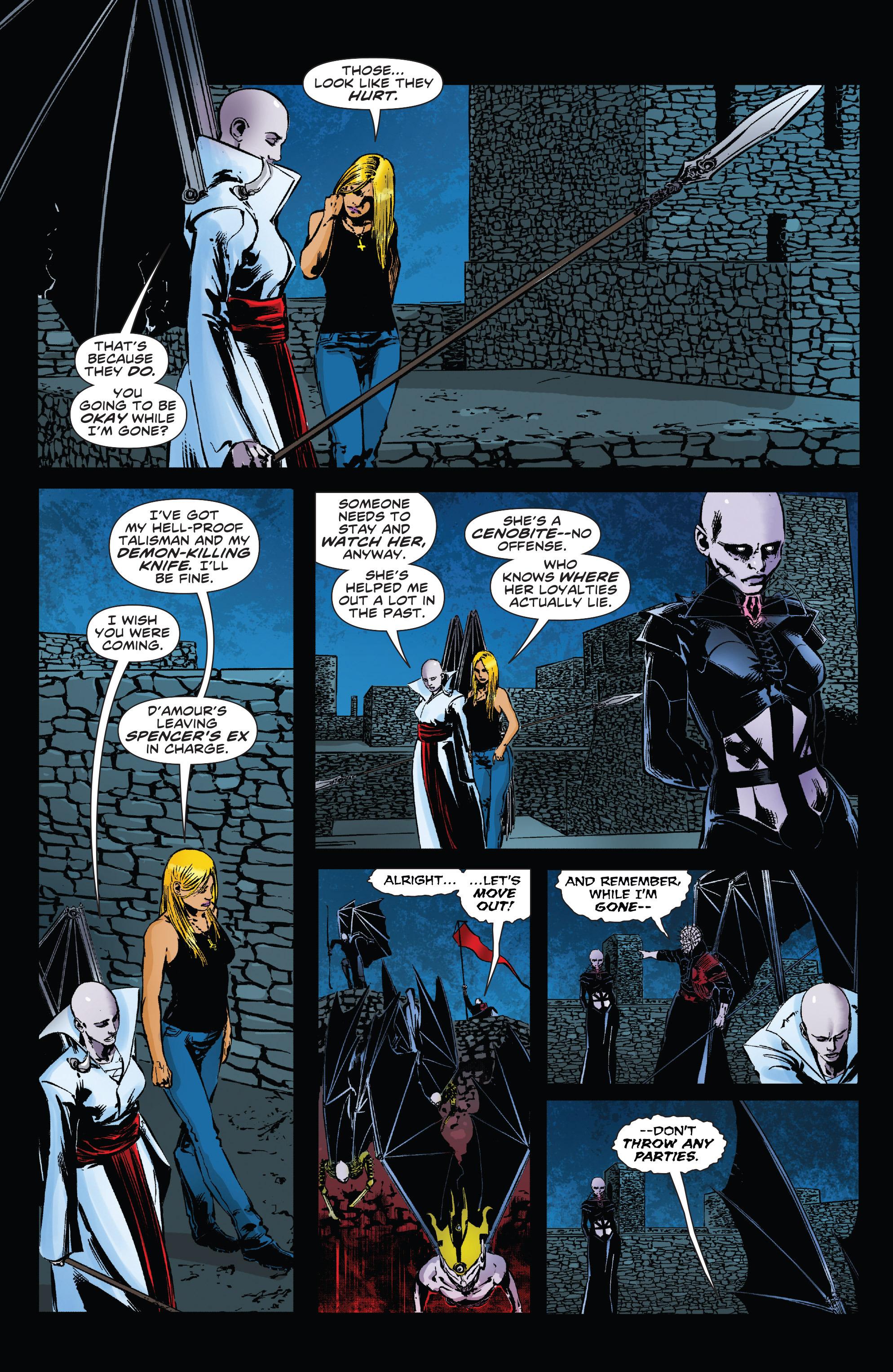 Read online Clive Barker's Hellraiser: The Dark Watch comic -  Issue # TPB 3 - 64