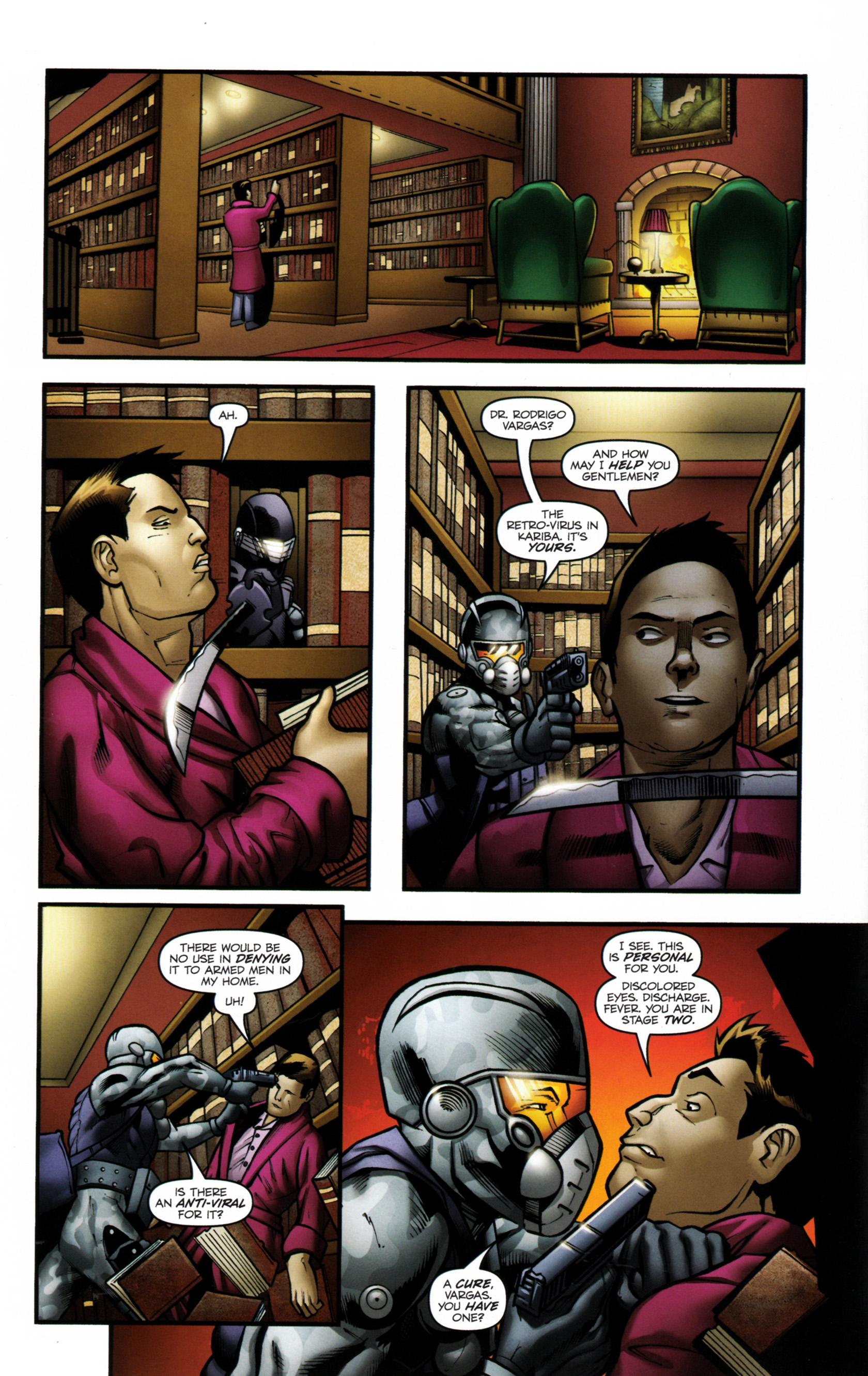 Read online G.I. Joe: Snake Eyes comic -  Issue #6 - 13