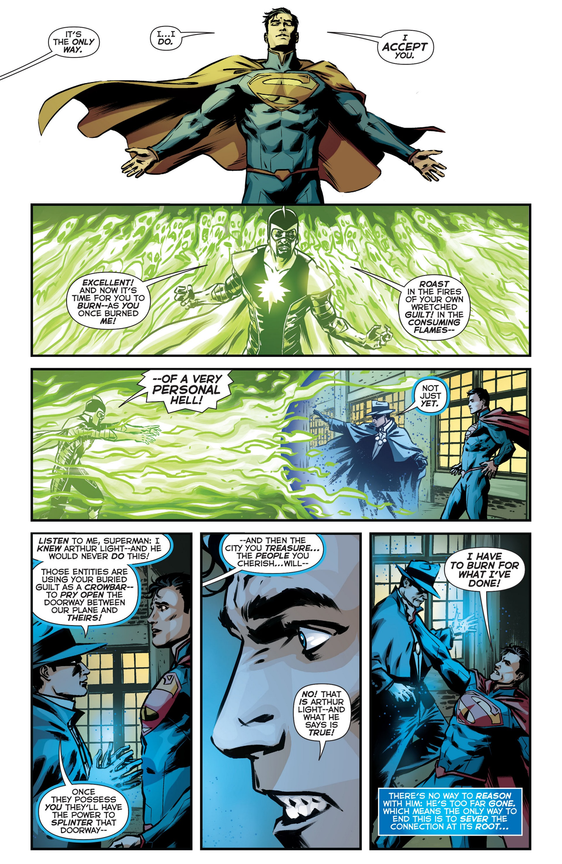 Read online Trinity of Sin: The Phantom Stranger comic -  Issue #18 - 14