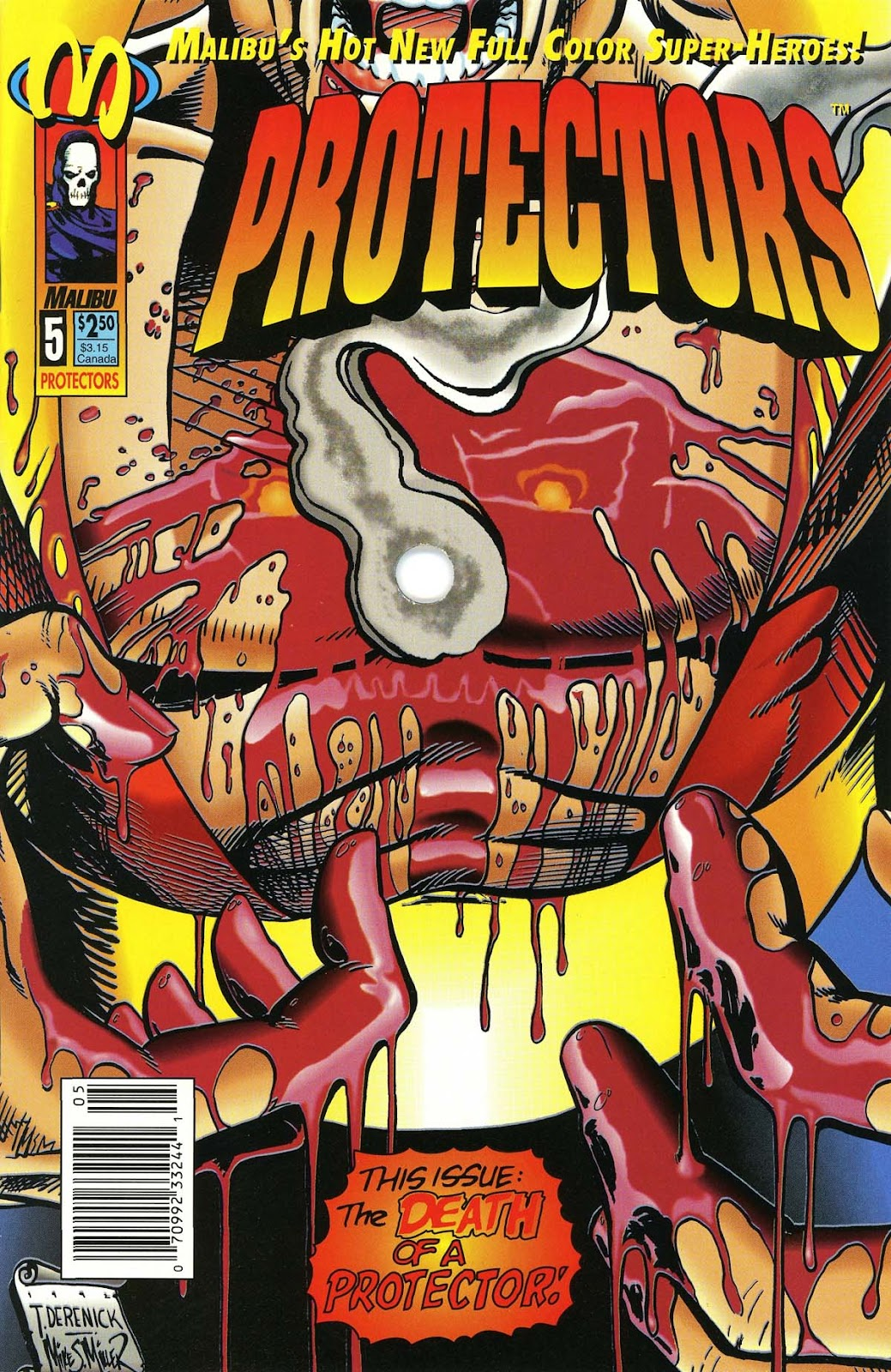 The Protectors 5 Page 1