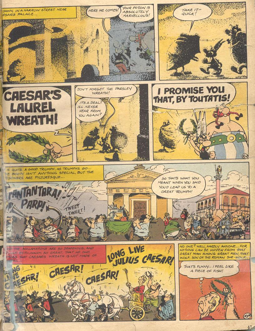Read online Asterix comic -  Issue #18 - 45